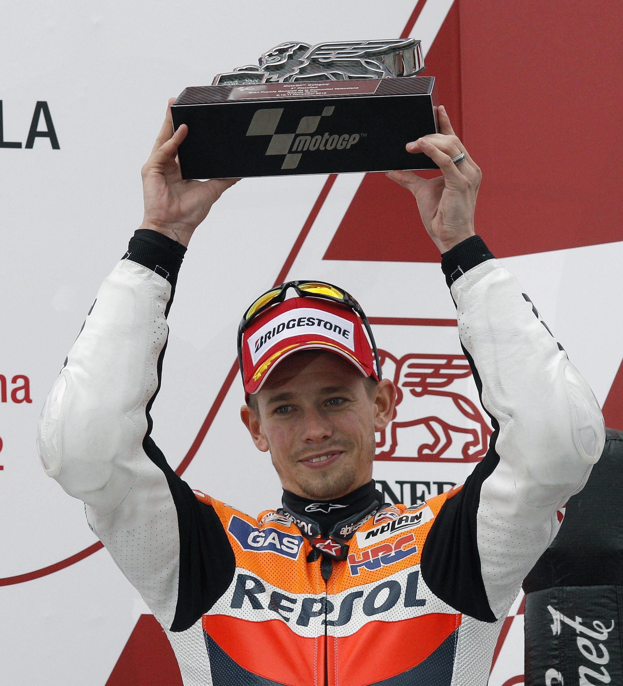 Australiano Casey Stoner, vigésimo piloto en la lista de Leyendas de MotoGP