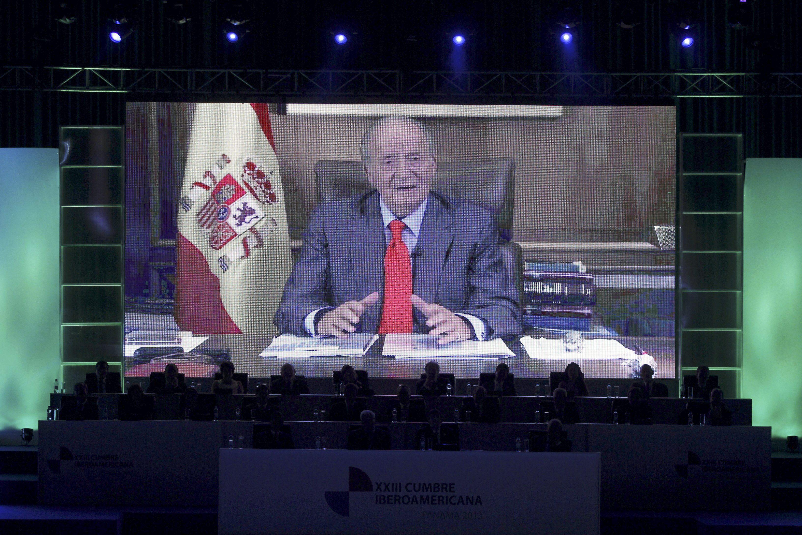 El Rey agradece el afecto de líderes iberoamericanos tras pasar por el «taller»