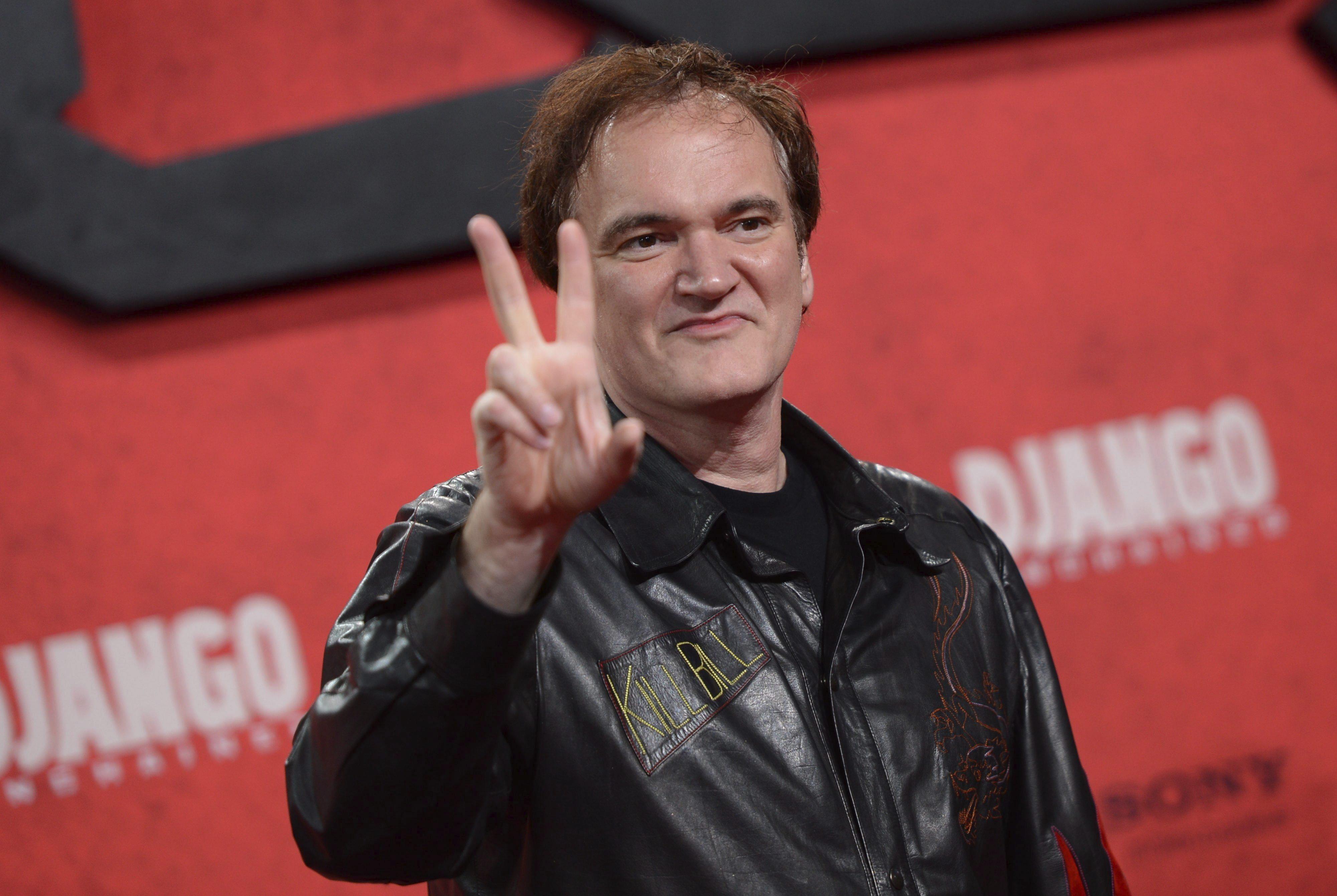 Un Tarantino emocionado recibe el Lumiere de Oro a toda su carrera en Lyon