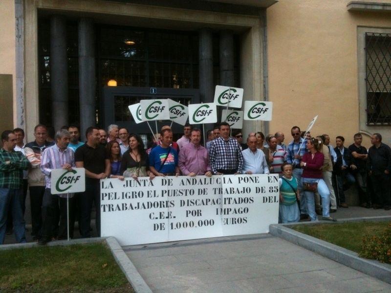 El Ayuntamiento urge el pago de la deuda del centro especial de empleo a la Junta, que culpa al Consistorio