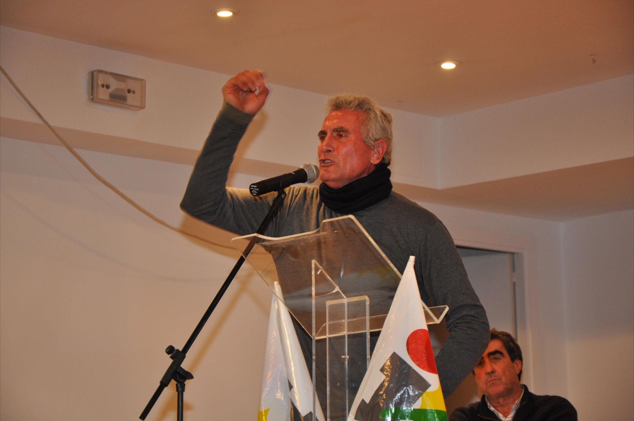 Detenido el portavoz del SAT, Diego Cañamero en Sevilla