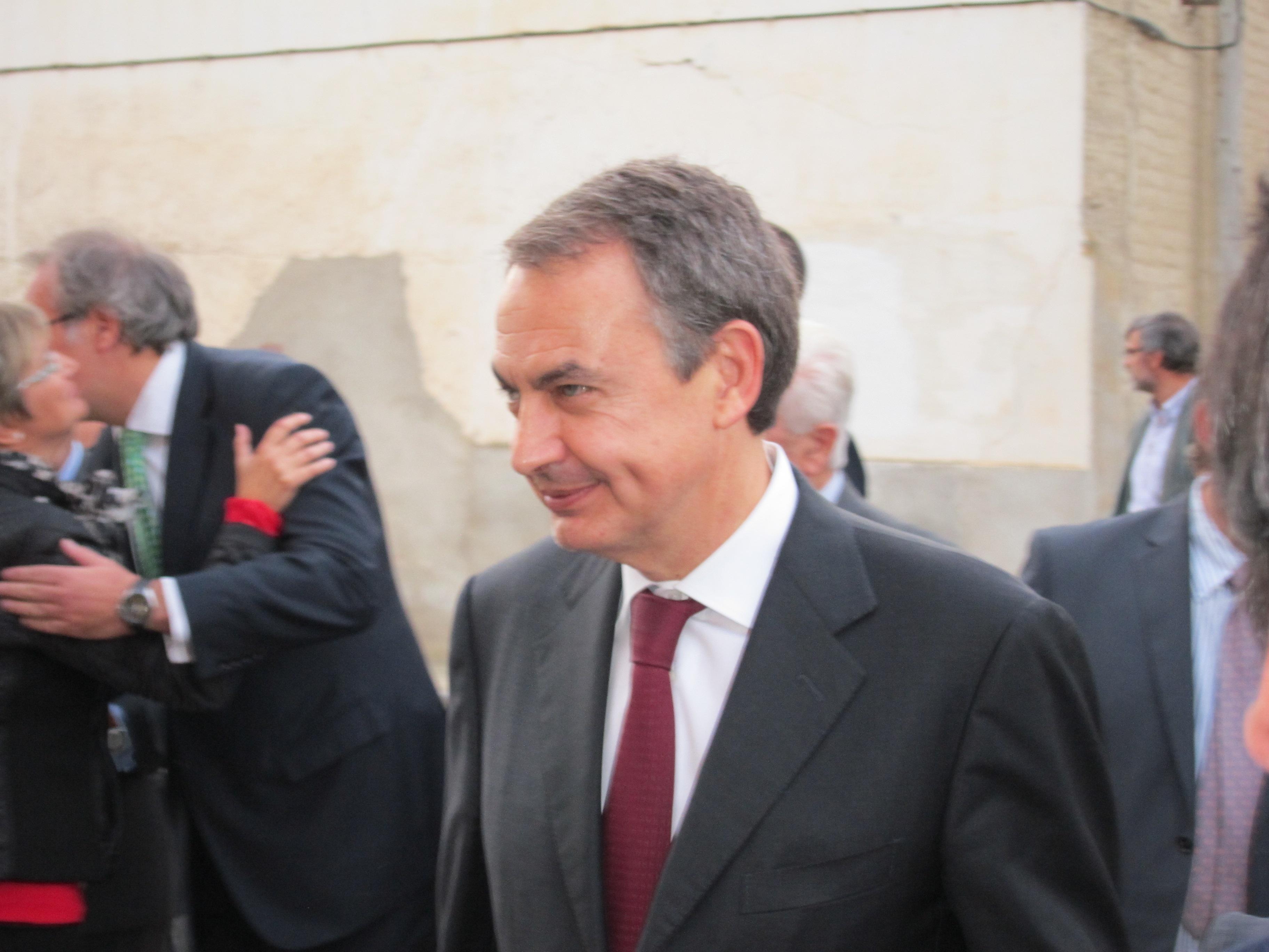 Rodríguez Zapatero cree que la sentencia «causa dolor» pero «hay que respetarla»