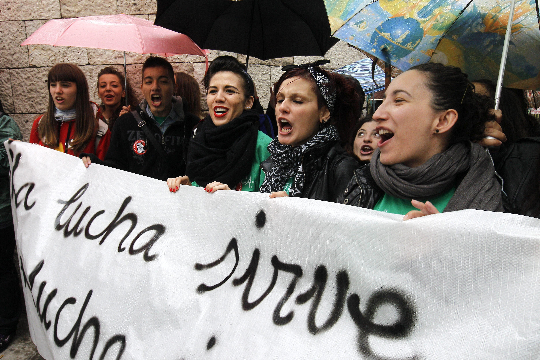 Alumnos de la UAM y la Carlos III se encierran contra la reforma educativa