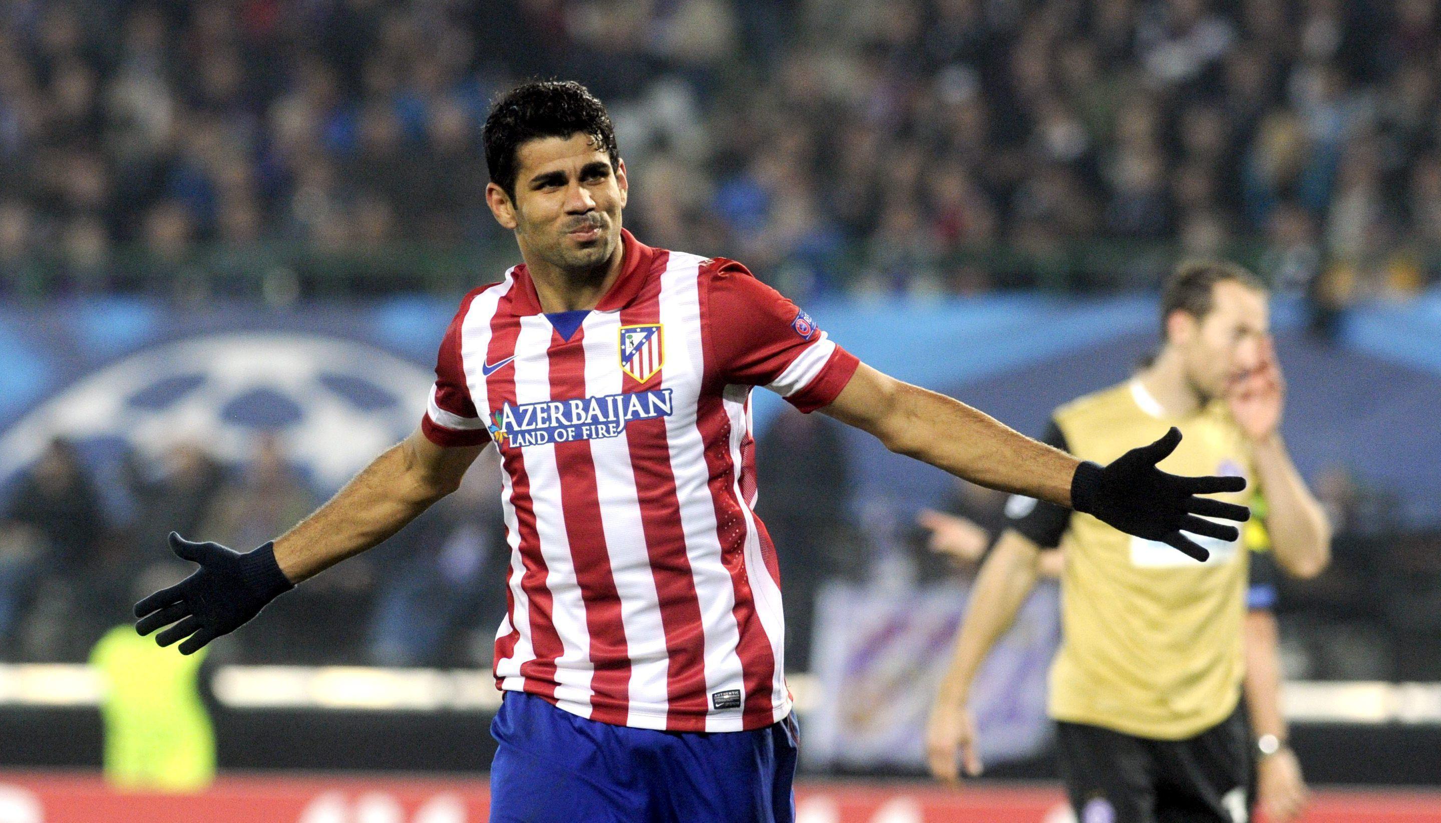 Diego Costa frena la euforia colchonera y pide ir partido a partido