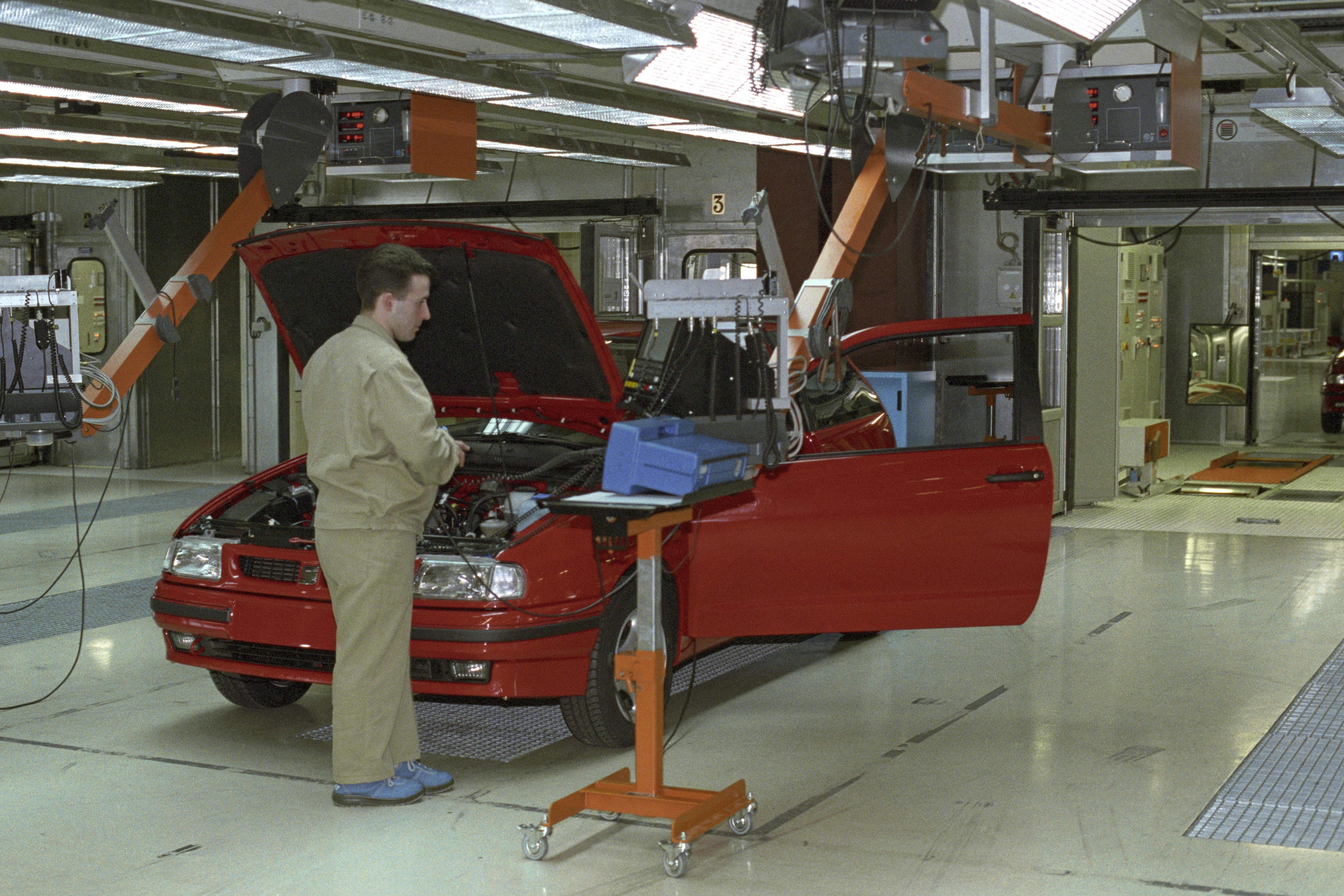 Alemania premia el proceso productivo de la fábrica de Seat en Martorell