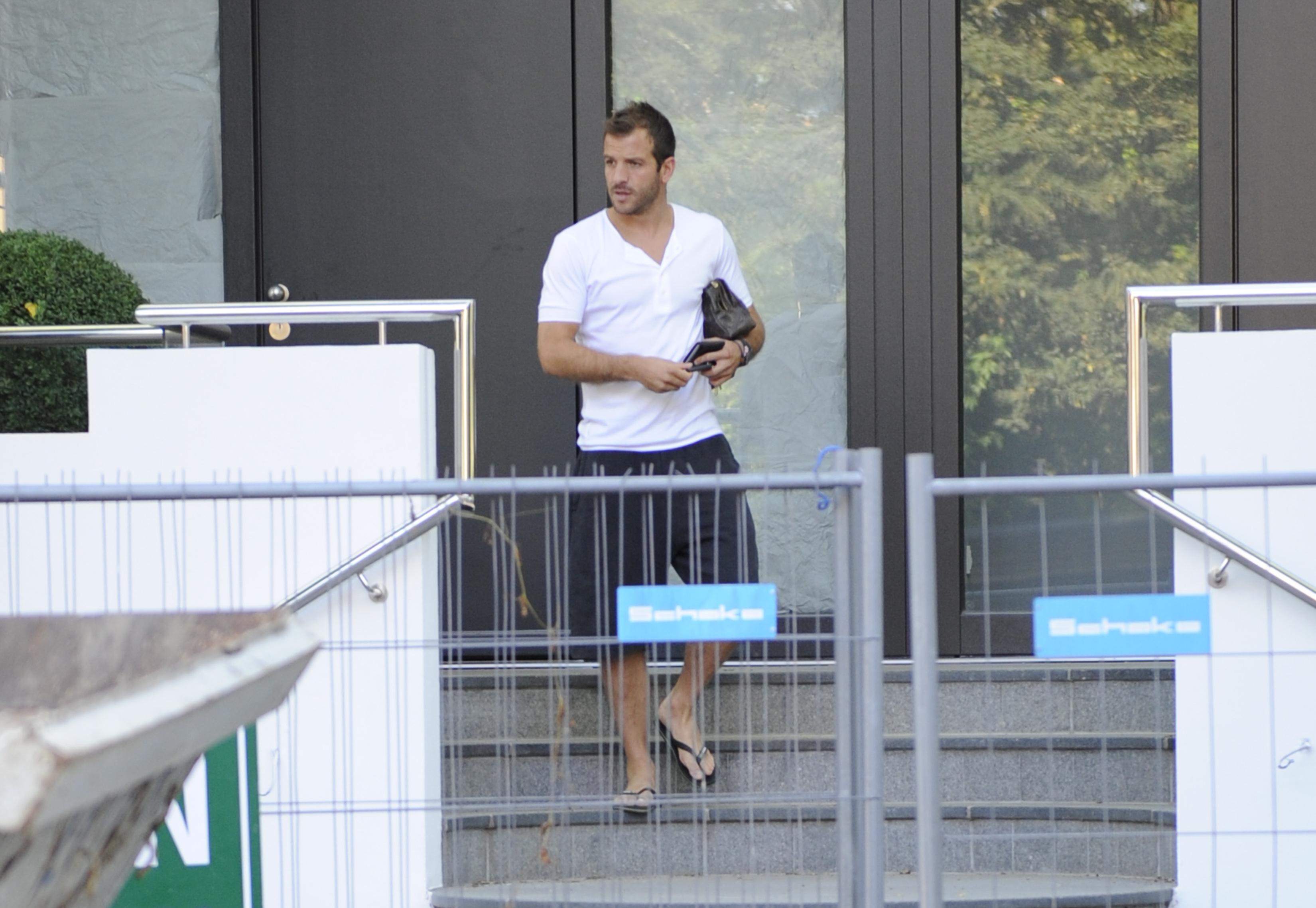 El futbolista Rafael Van der Vaart espera un hijo con la mejor amiga de su ex mujer