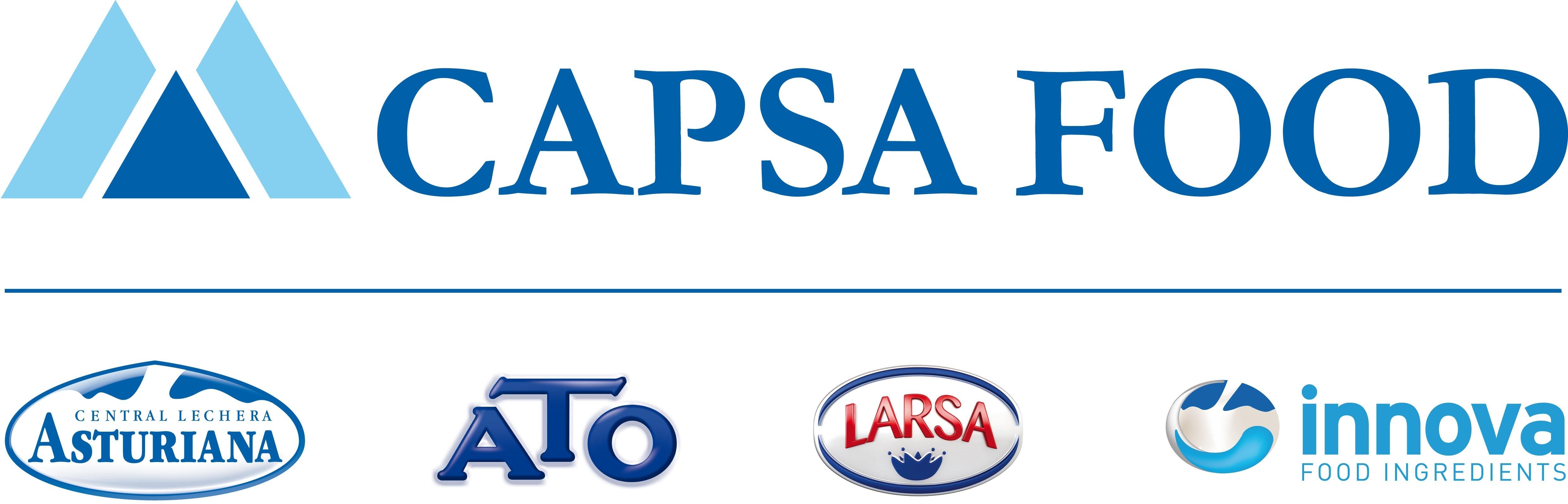Capsa Food, nueva imagen corporativa de Capsa para adaptarse a su estrategia de internacionalización