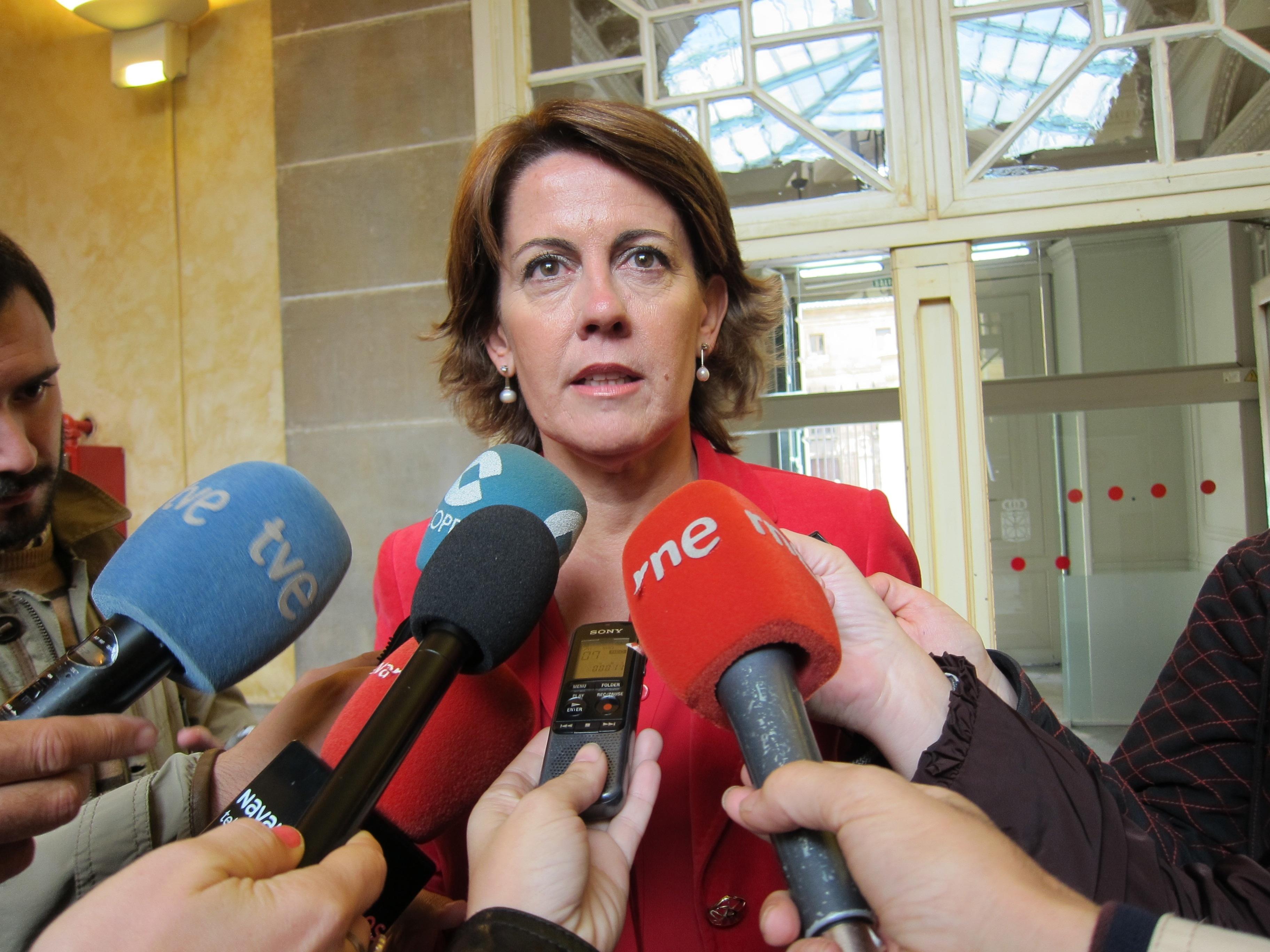 Barcina espera que el PSN «vuelva a la senda de la condena de los asesinatos terroristas, como siempre»