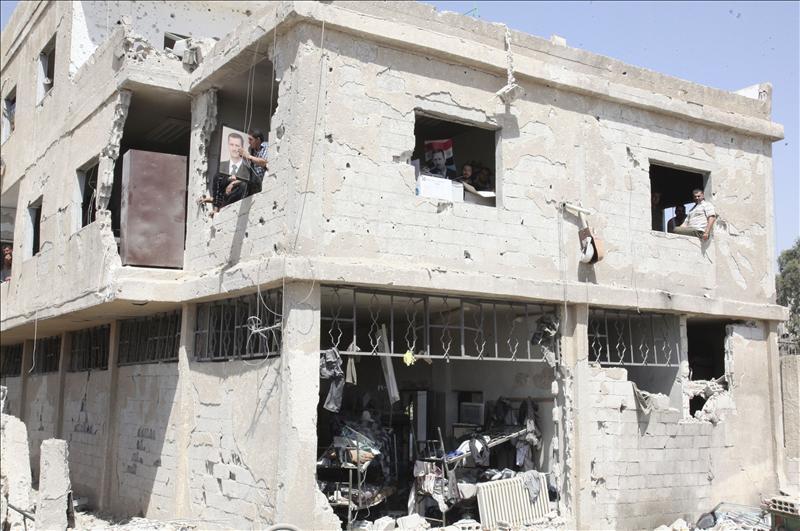 En Latakia y Safita nadie se atreve a entrar