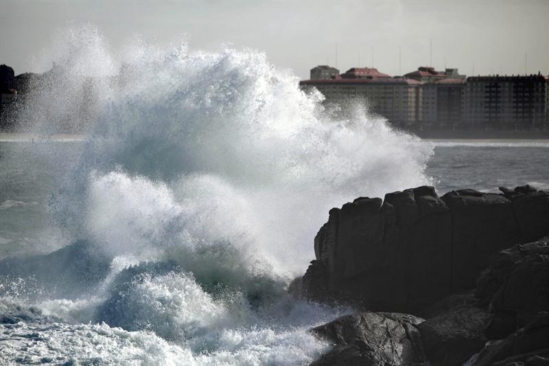 La ciclogénesis explosiva no castiga demasiado a España