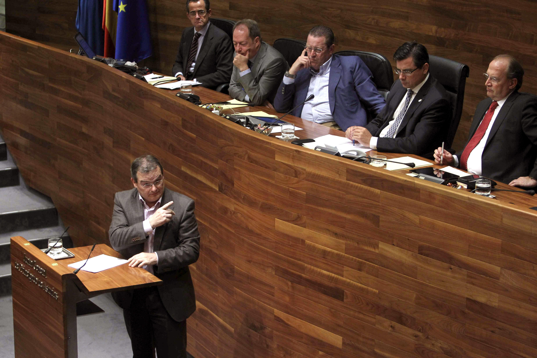 IU deja de prestar apoyo al Gobierno socialista de Asturias