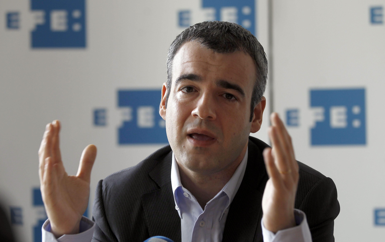 Lucena (PSC) advierte de que «si ERC entra en el Govern, el choque de trenes es más probable»