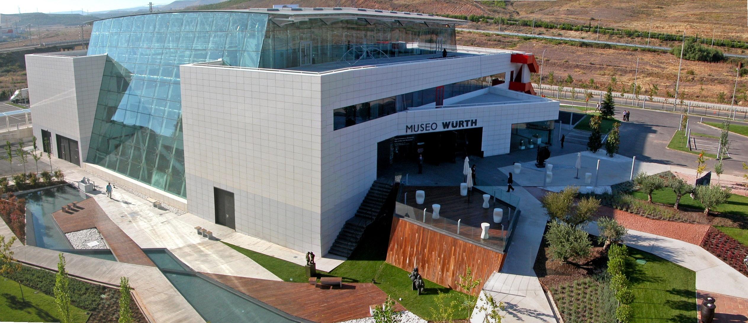 El Museo Würth de La Rioja plantea a los visitantes que elijan obras y artistas para exponer en su atrio principal