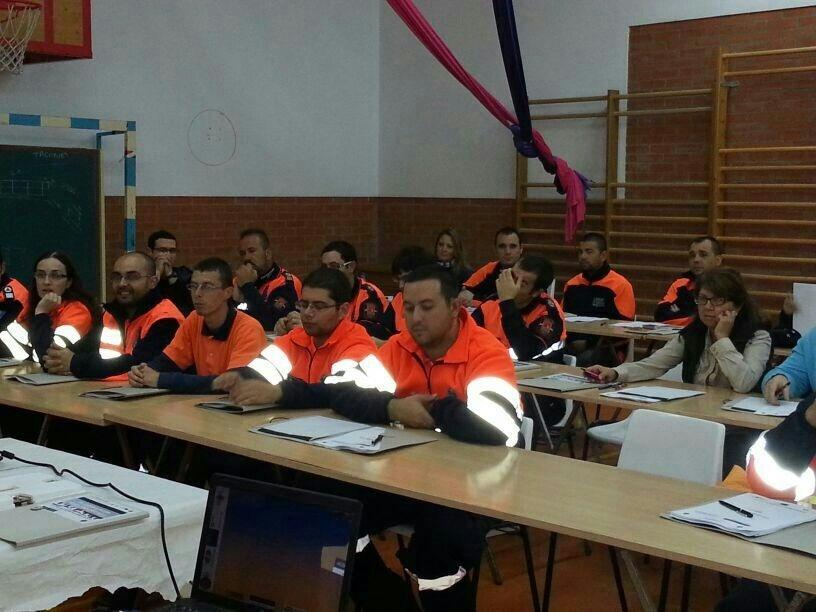 Un total de 140 voluntarios participan en los cursos de formación de Protección Civil en Zafra y Jerte
