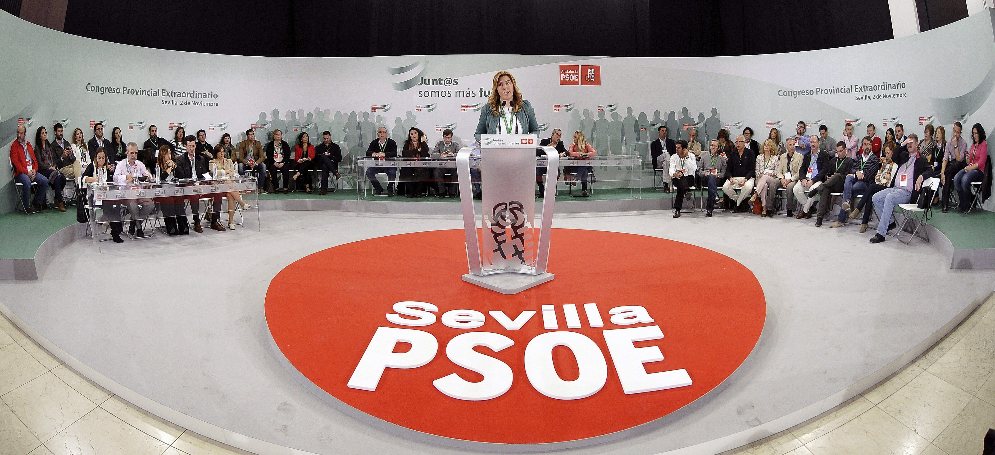 Susana Díaz dice que «la herencia de Rajoy será la pobreza y la desigualdad»