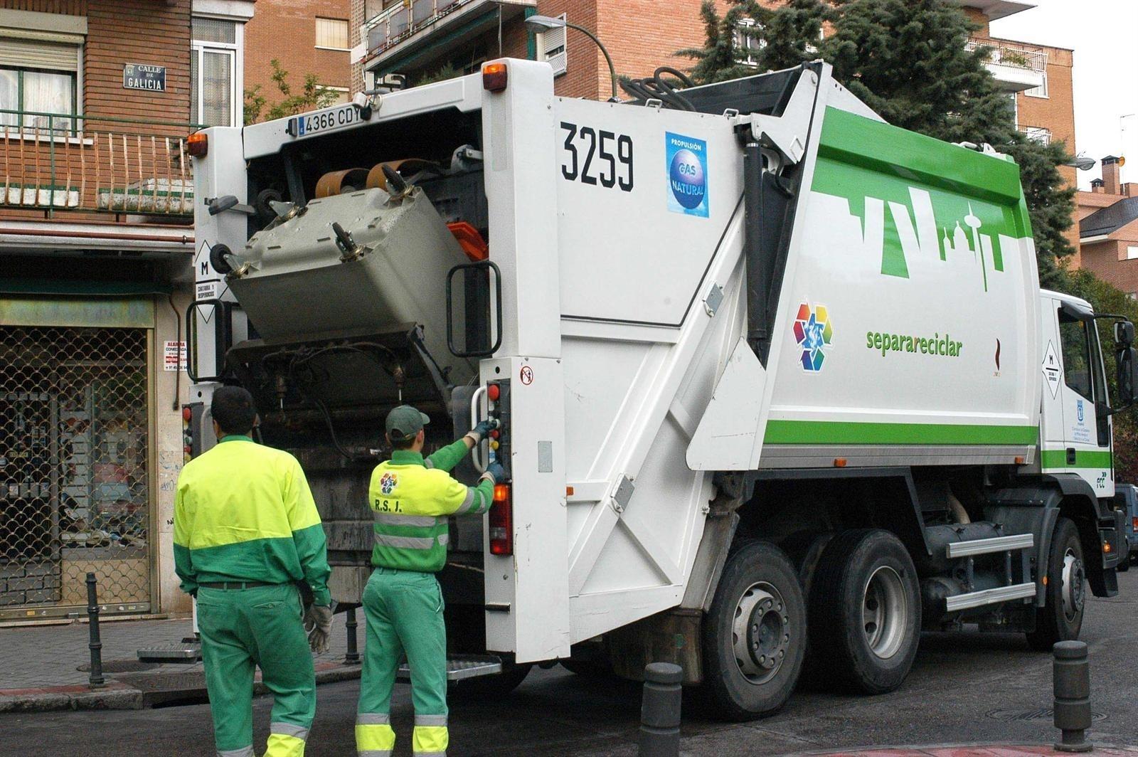 Trabajadores de la jardinería y la limpieza viaria de la capital se manifiestan el lunes para exigir la retirada del ERE