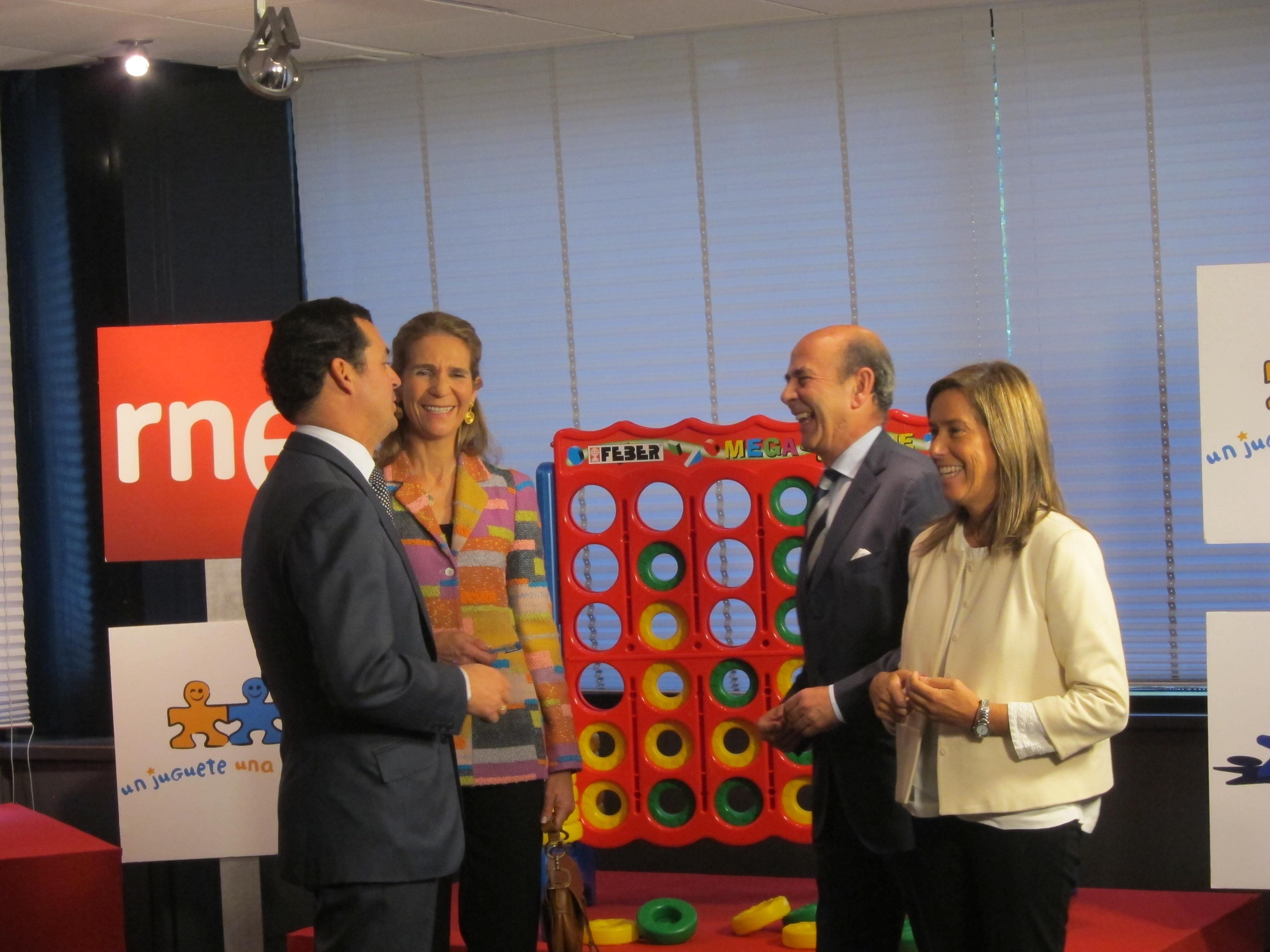 La XIV campaña »Un juguete, una ilusión» busca garantizar el derecho de los niños a «crecer jugando»