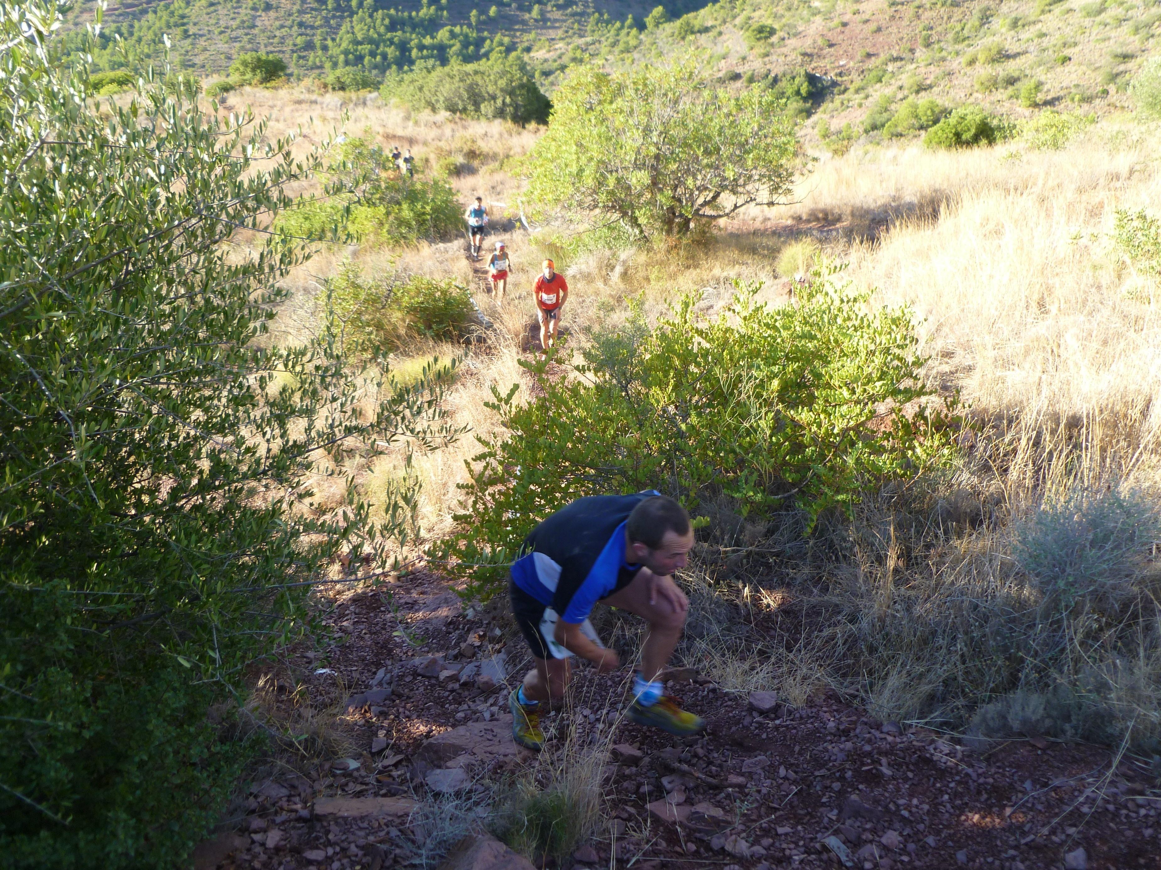Alejandro Samper y Mercedes Pila, ganadores de la última prueba del II Races Trail Running en La Vall d»Uixó