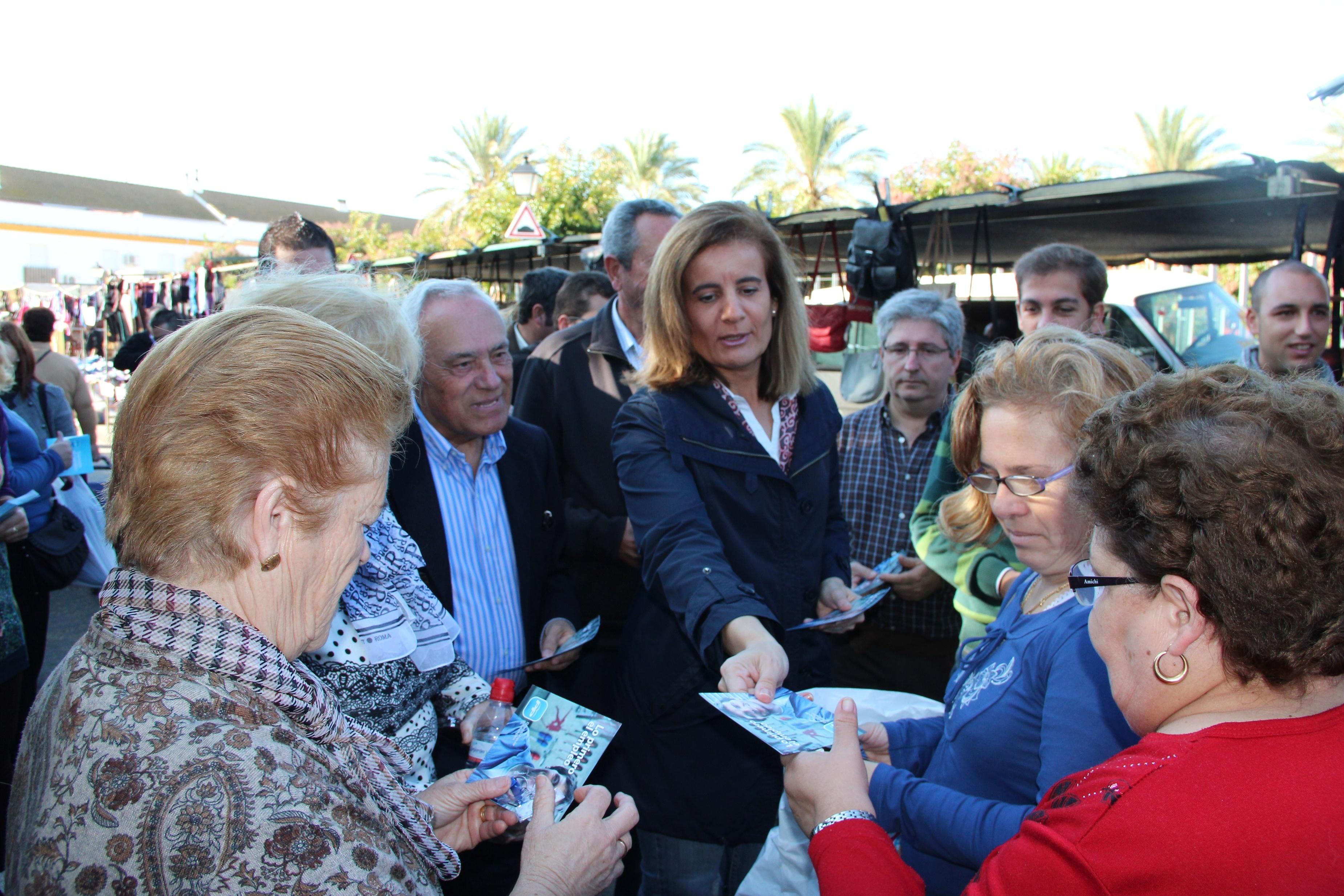 Báñez protagonizará este sábado el acto del Día del Afiliado del PP onubense, dedicado a la mujer