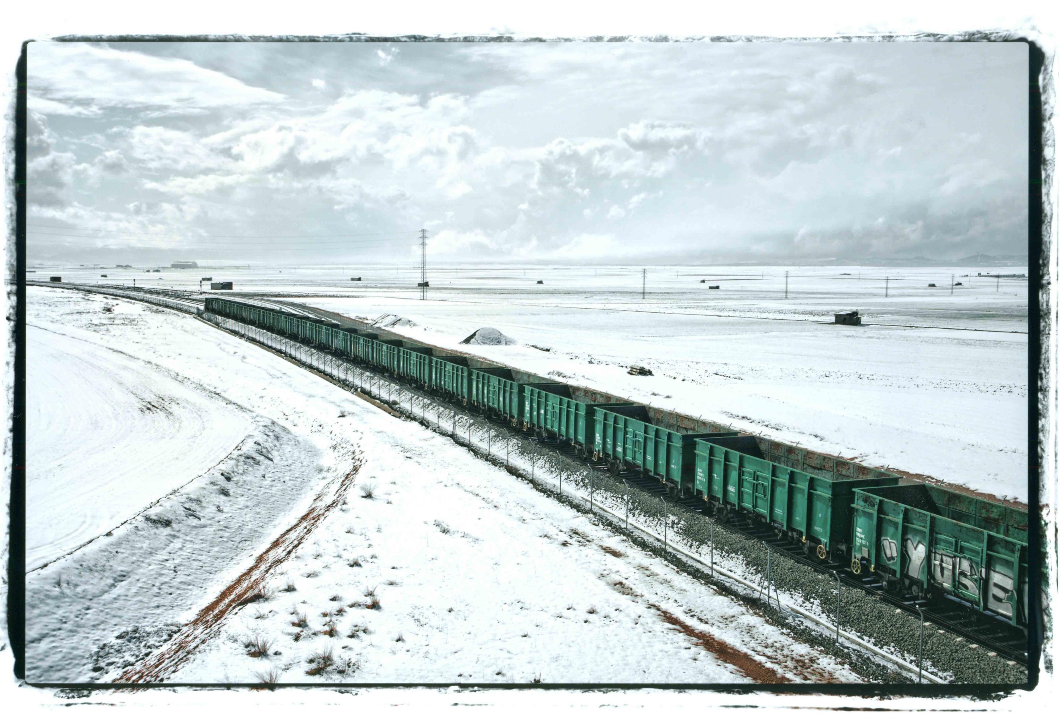 Una imagen del paisaje nevado de Cella (Teruel) gana el cuarto premio del Concurso Fotográfico Camino del Cid