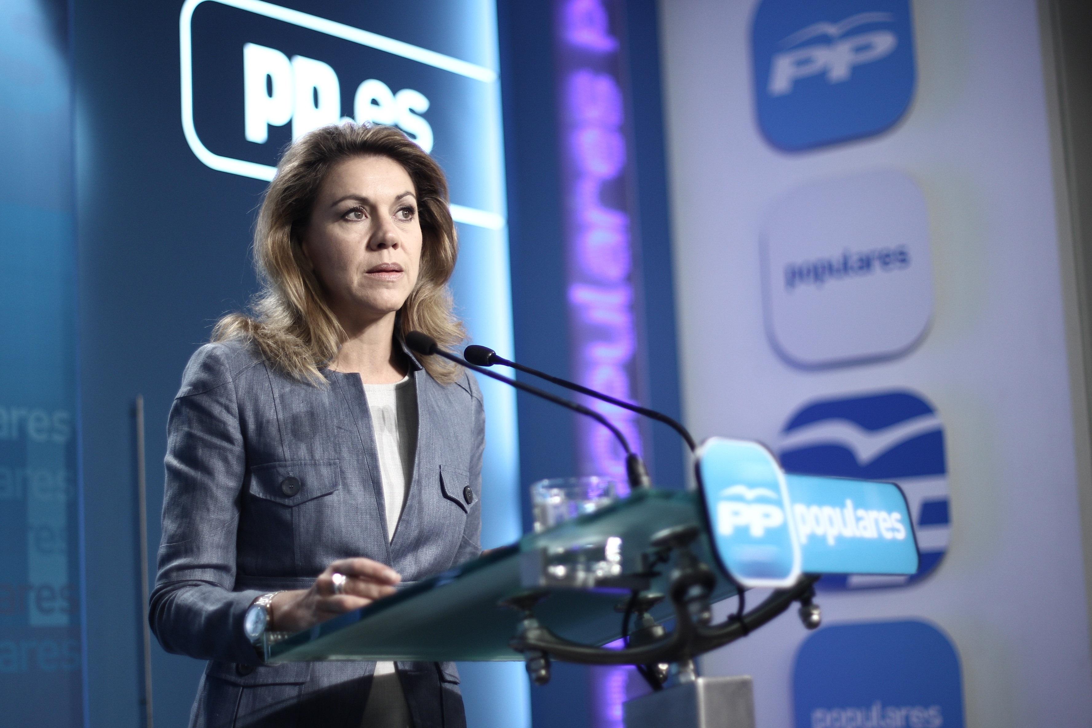 Cospedal preside este miércoles la Junta Directiva del Partido Popular de Asturias