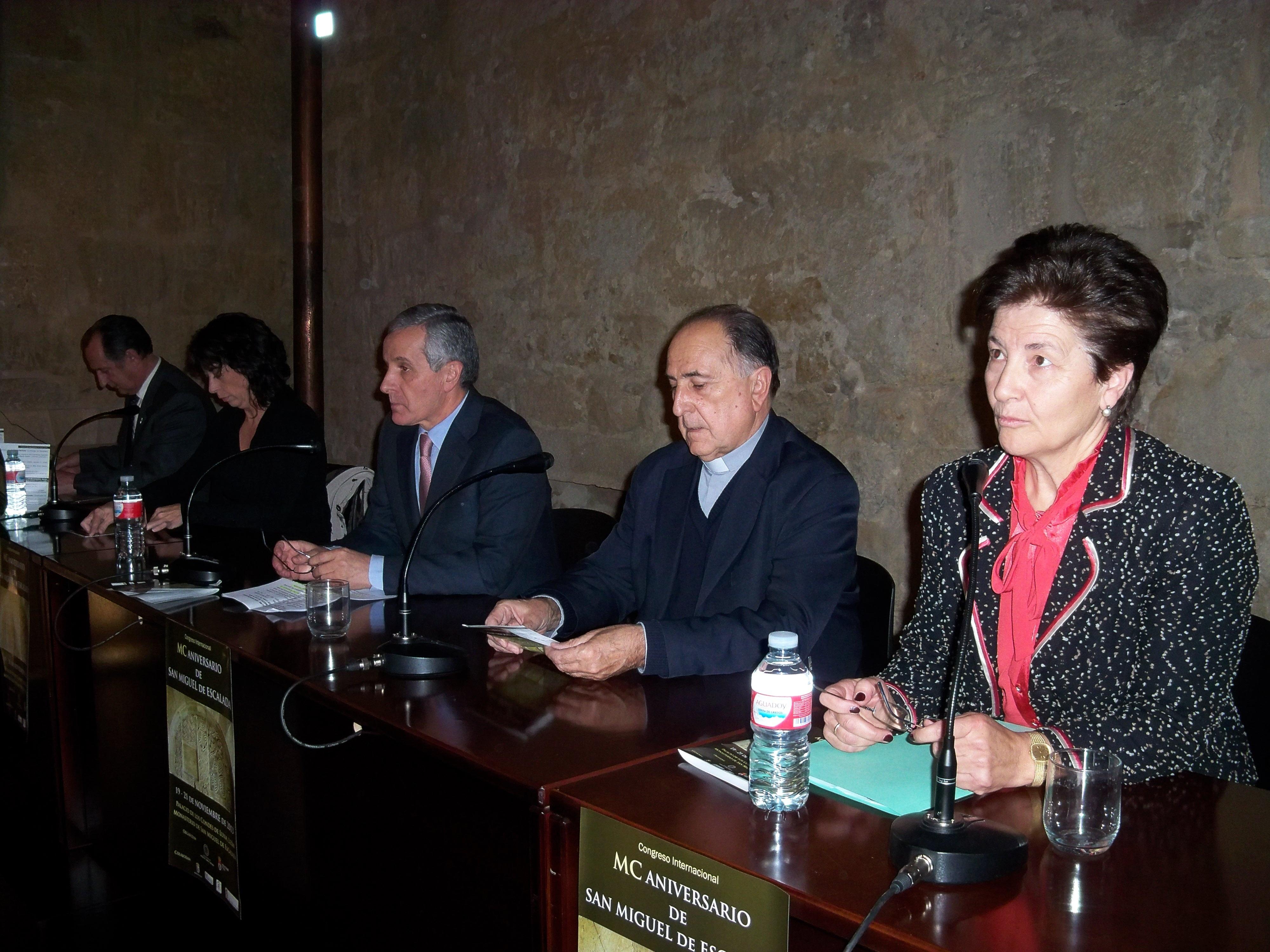 Un congreso analiza en León el MC aniversario del Monasterio de San Miguel de la Escalada hasta el jueves