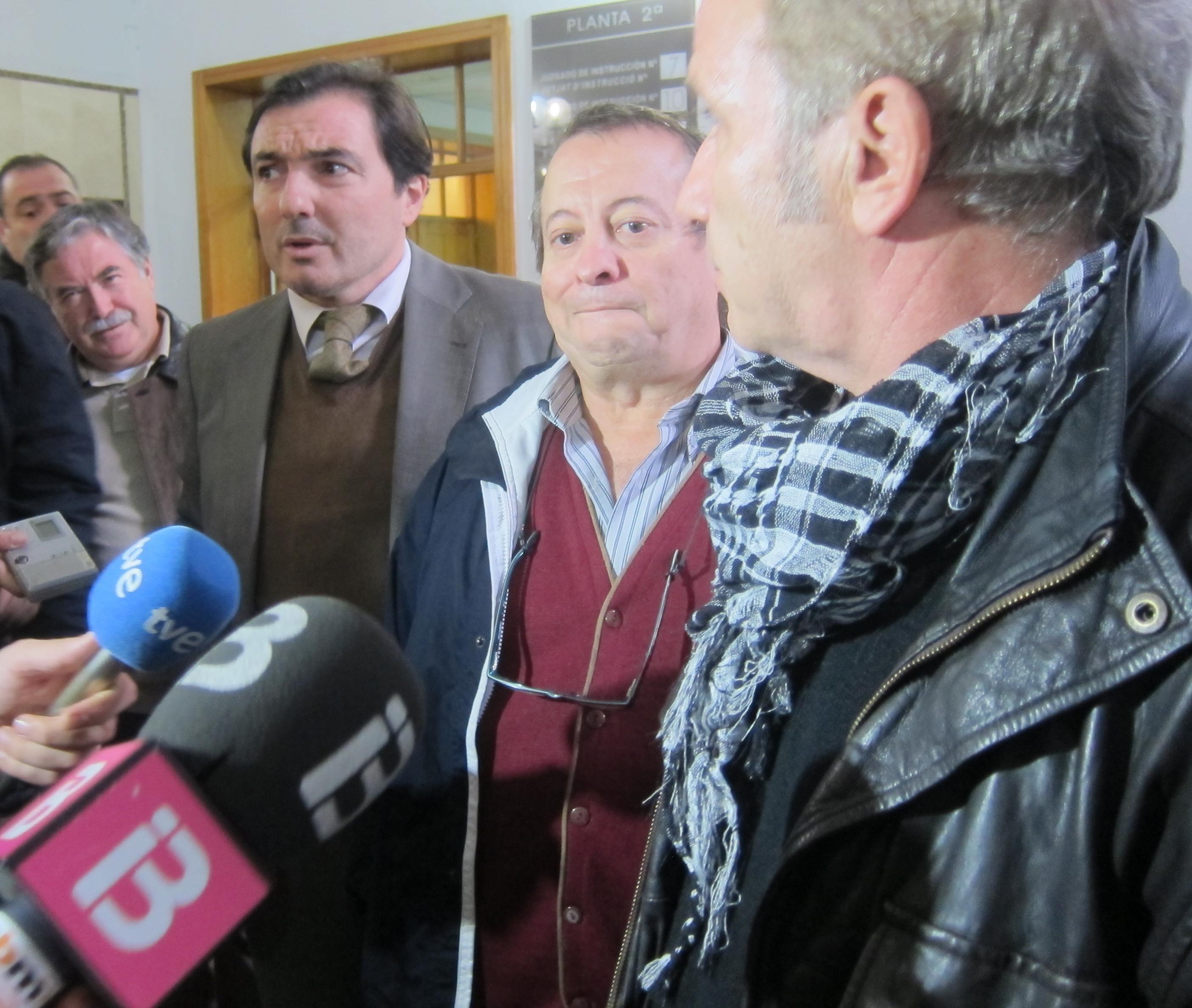 Lorenzo Bravo (UGT) subraya que volvería a llamar «fascista» a Bauzá y a decirle «cuatro frescas más»