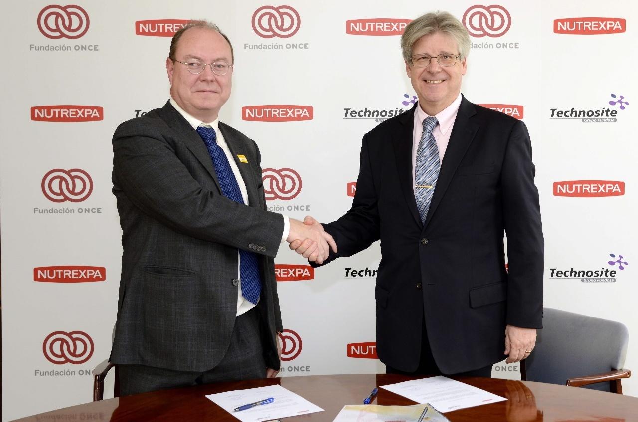 Nutrexpa firma un acuerdo con el grupo de empresas de Fundación ONCE a favor de la accesibilidad en sus web