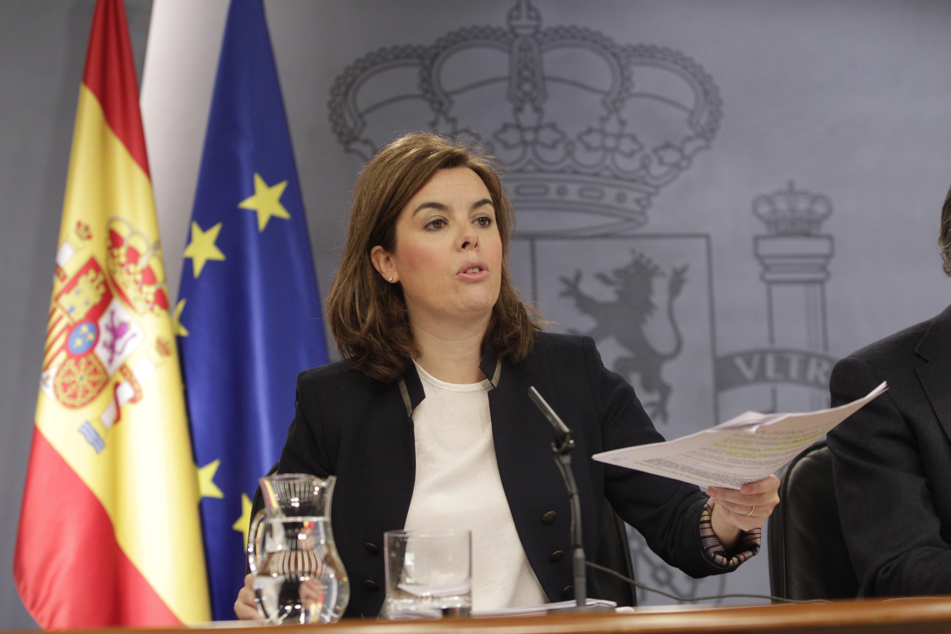 Santamaría reprocha a CiU que acuse al Gobierno de recentralizar cuando se beneficia de 28.000 millones del Estado