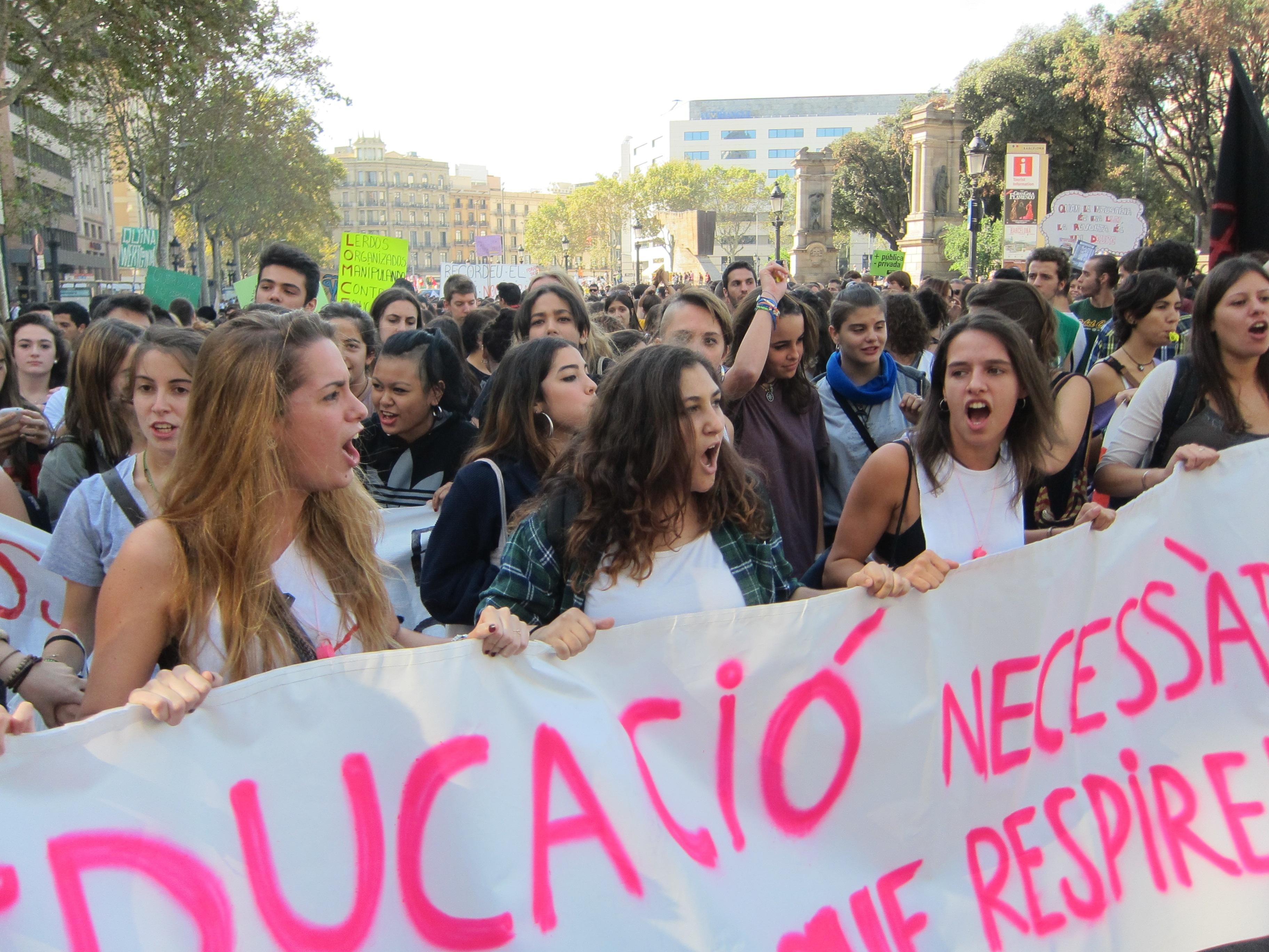 El Sindicato de Estudiantes convoca una huelga para pedir la retirada de la Lomce