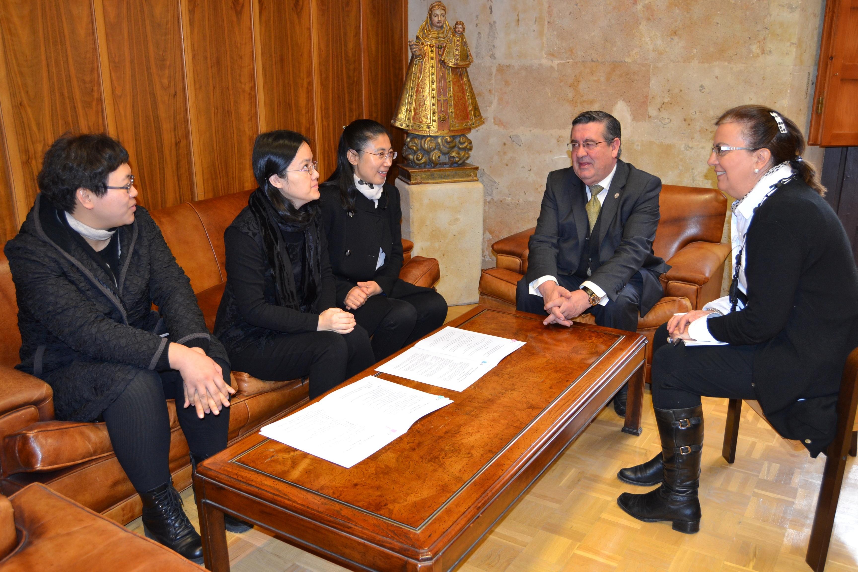 La UPSA enseñará español a alumnos de la Universidad de Changchun (China)