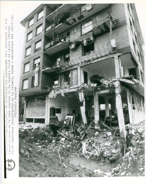 Manuel González fue uno de los terroristas que atentó contra la casa cuartel de Llodio