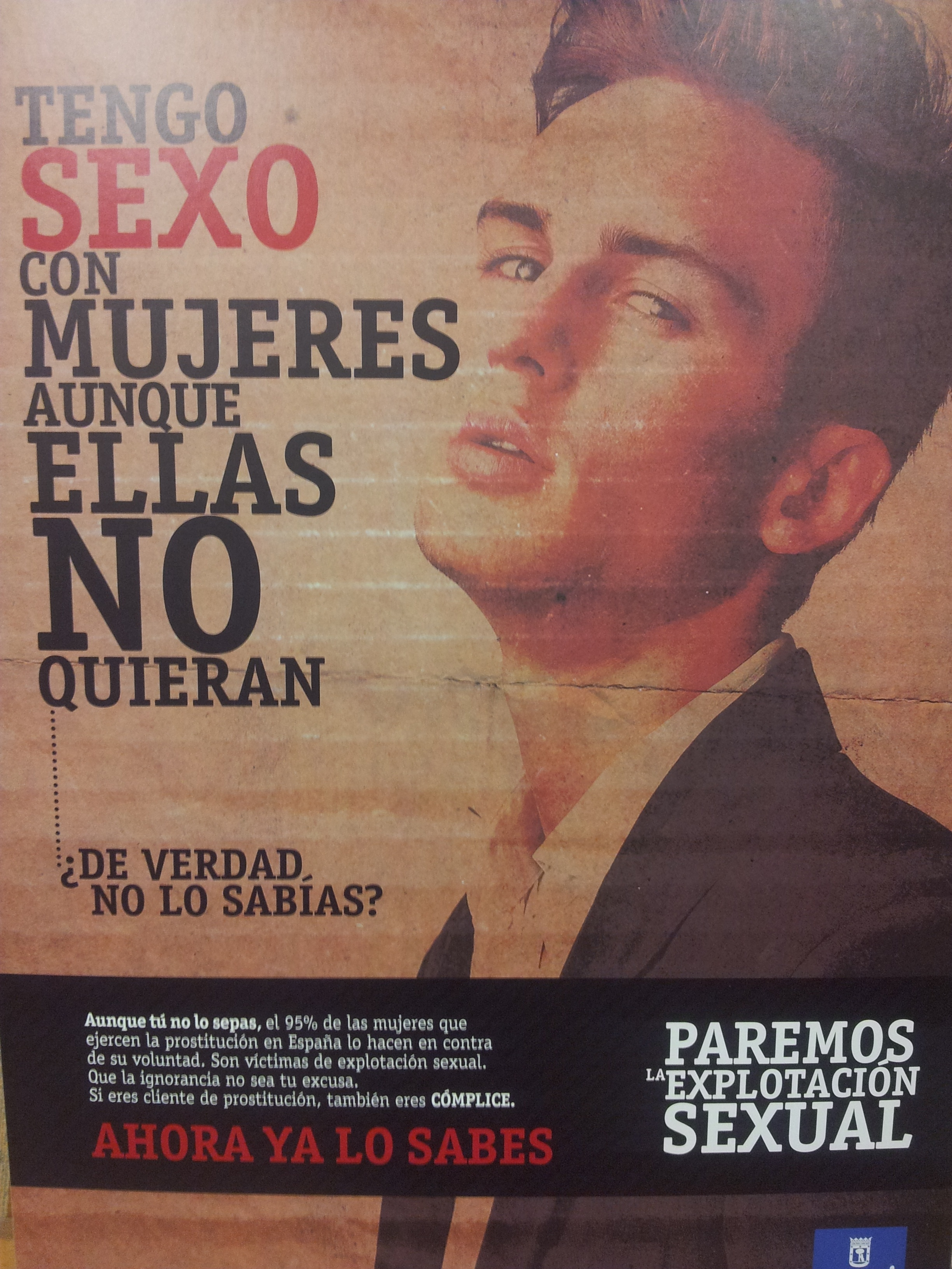 El Ayuntamiento de Madrid pone en marcha una campaña para desalentar a los demandantes de la prostitución