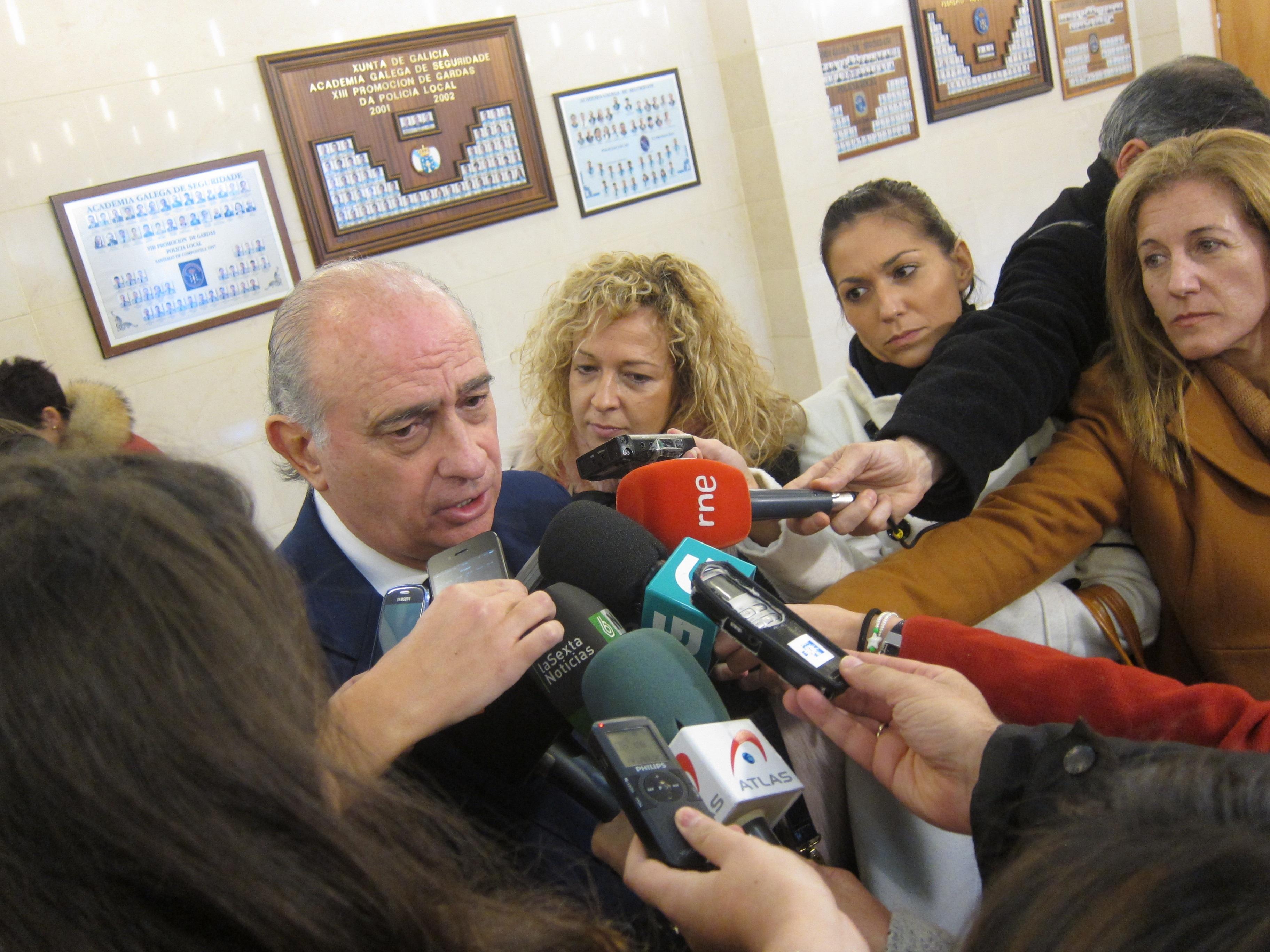 Fernández Díaz «confía» en la labor de los investigadores en el caso de Asunta y afirma que hacen «muy bien» su trabajo