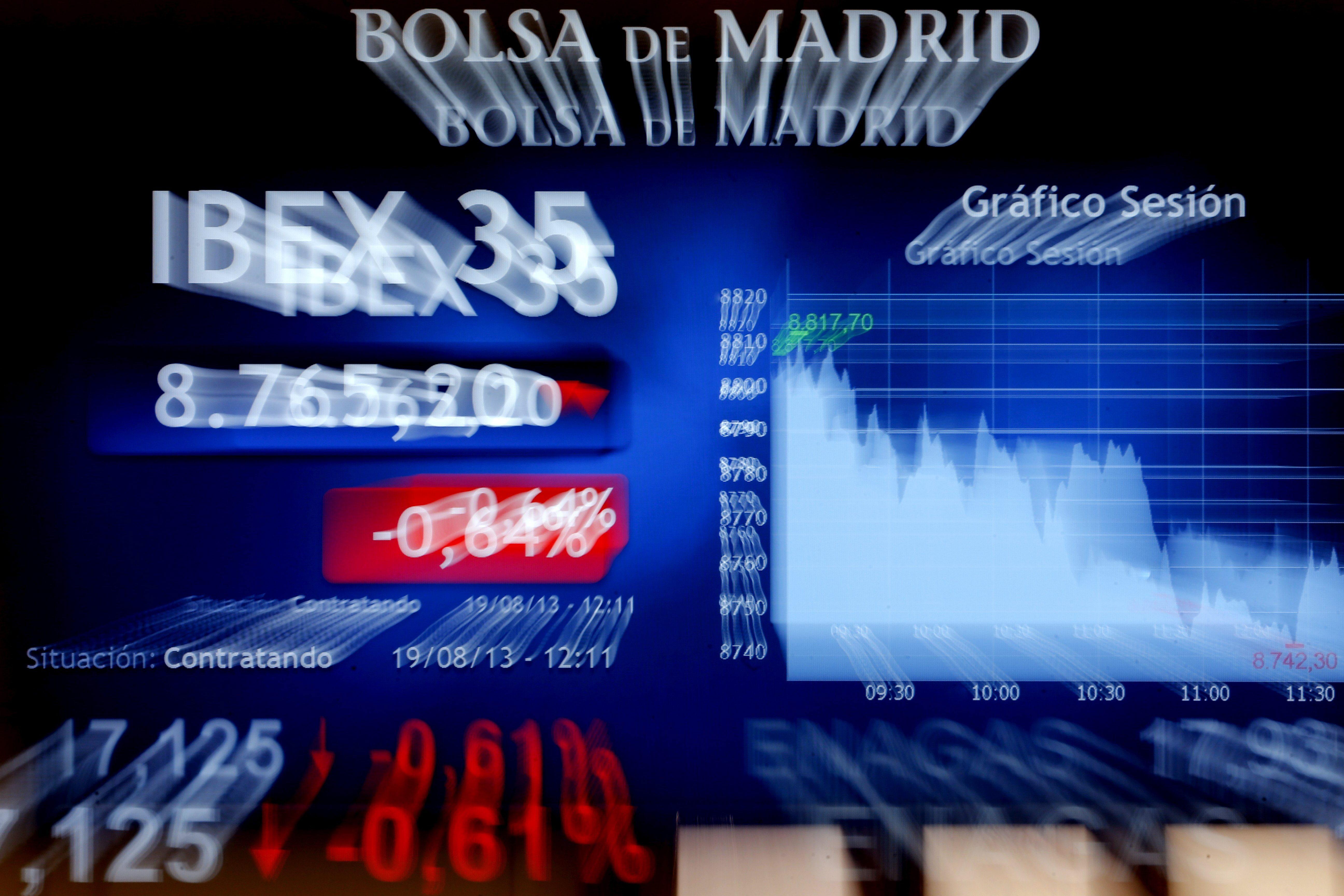 El ÍBEX 35 cae el 0,31 por ciento tras la apertura y pierde los 9.600 puntos