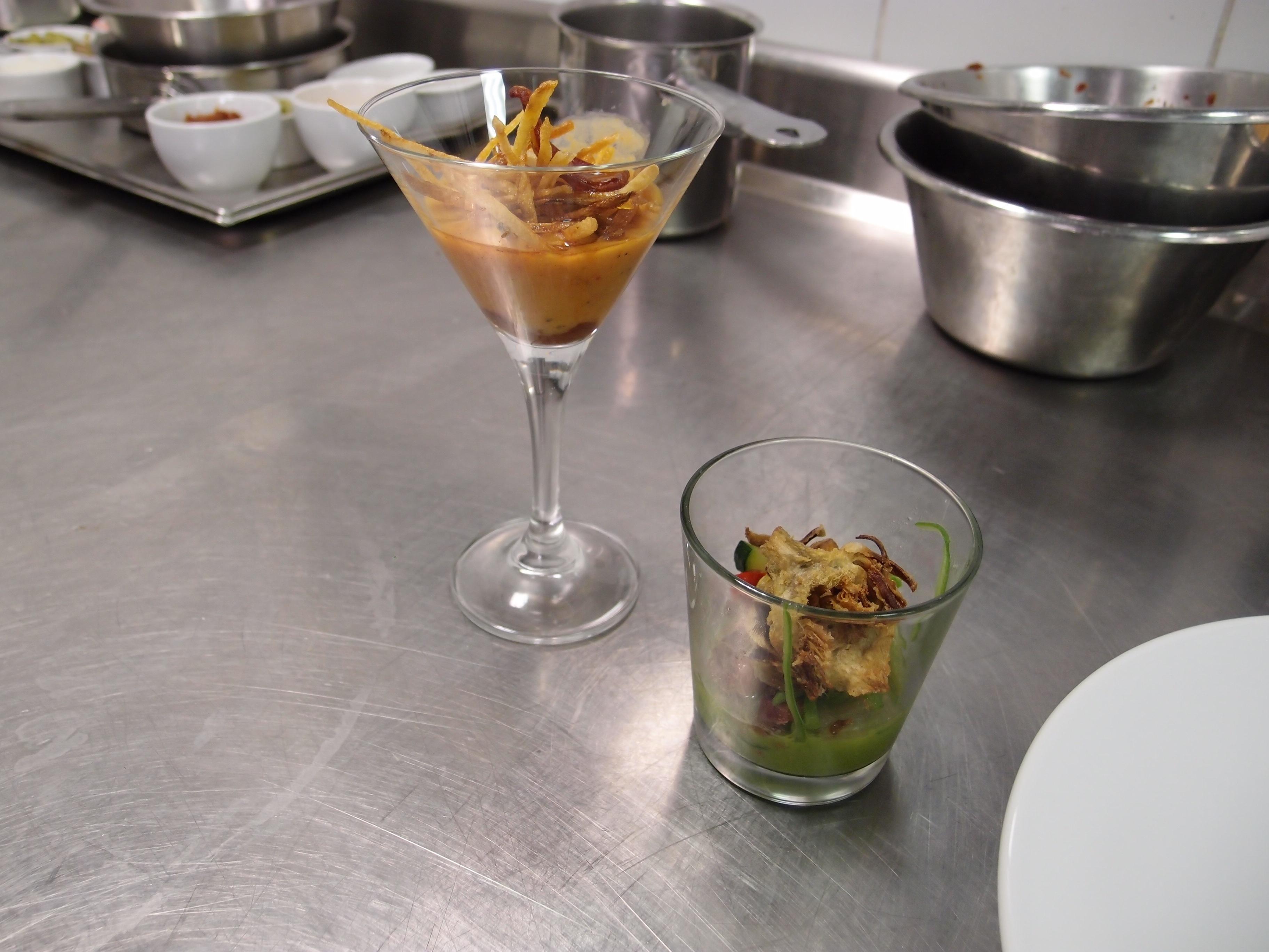 Logroño promociona en París la gastronomía de la capital riojana con un »showcooking» de cocineros locales