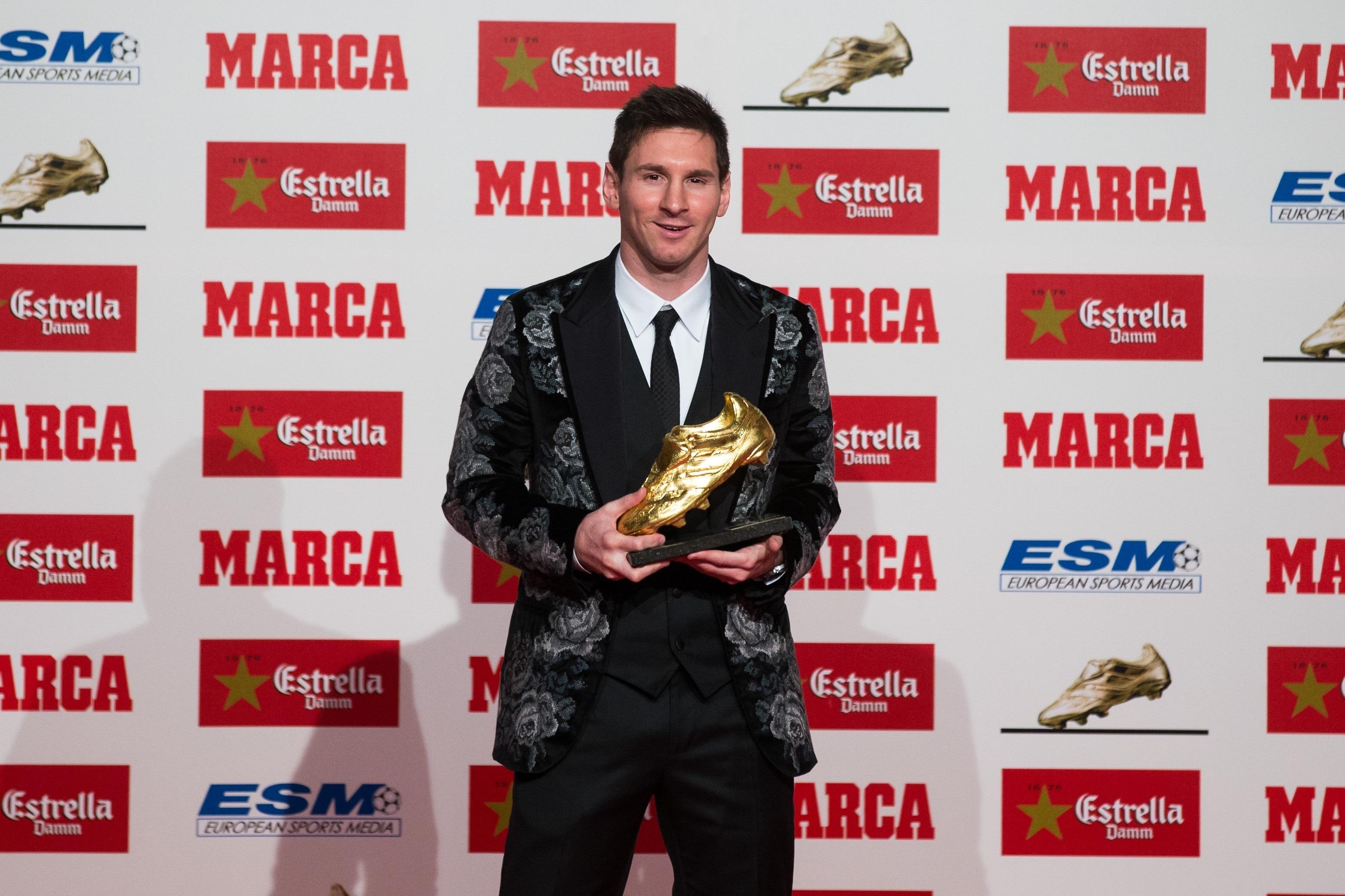 Messi: «La Bota de Oro nunca fue mi objetivo»