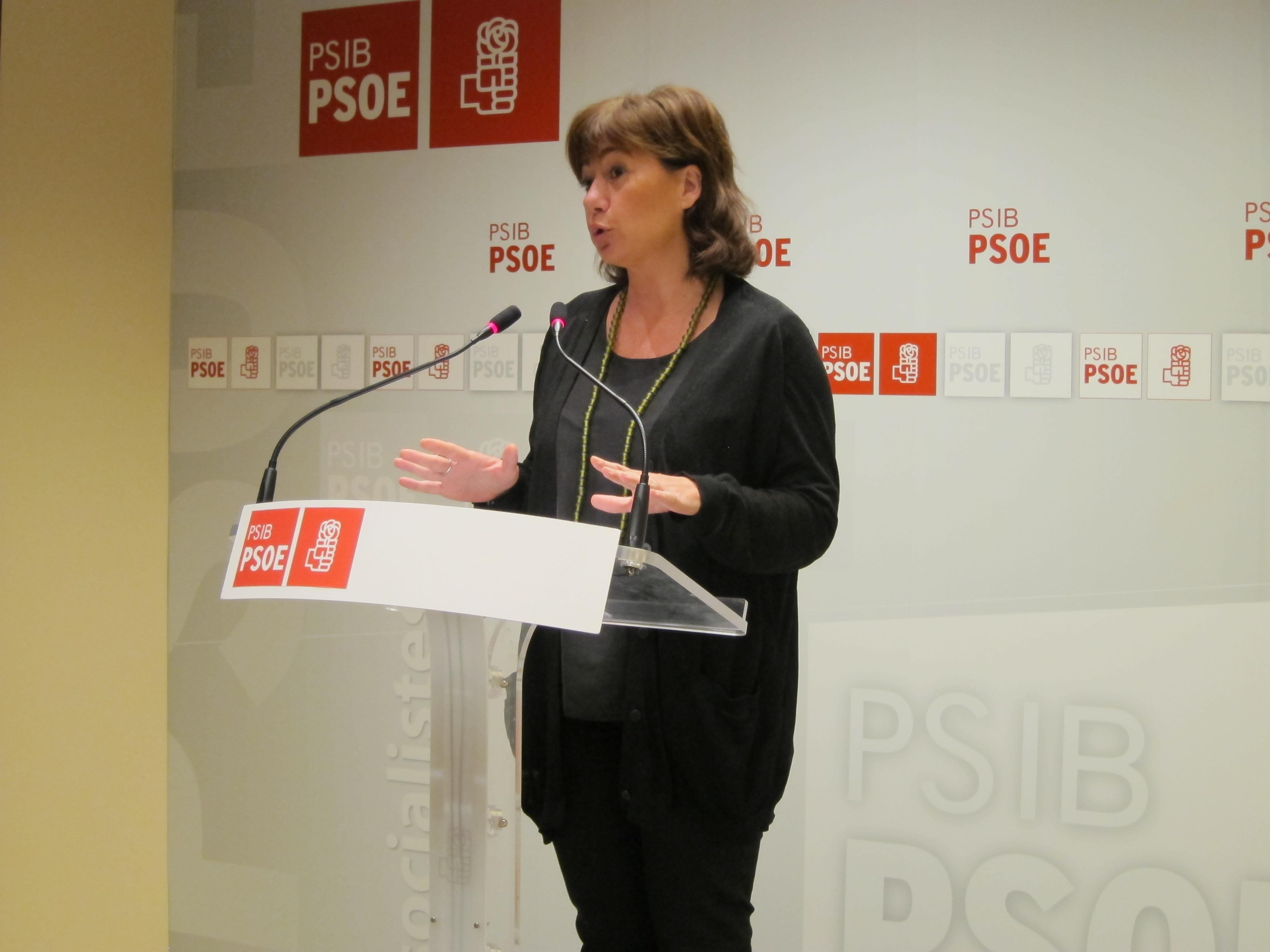 PSIB-PSOE afirma que Rajoy ha borrado a Baleares del mapa, ya que la «margina estrepitosamente»
