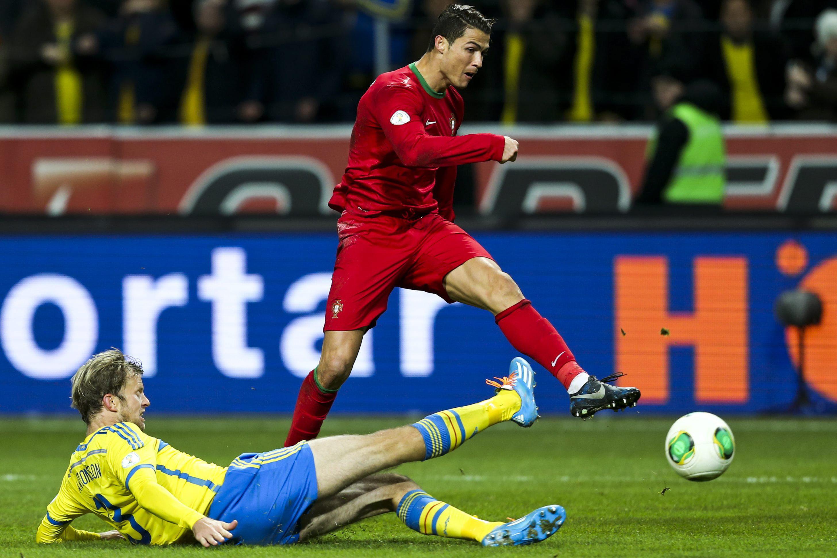 La prensa sueca se rinde a la exhibición de Cristiano Ronaldo