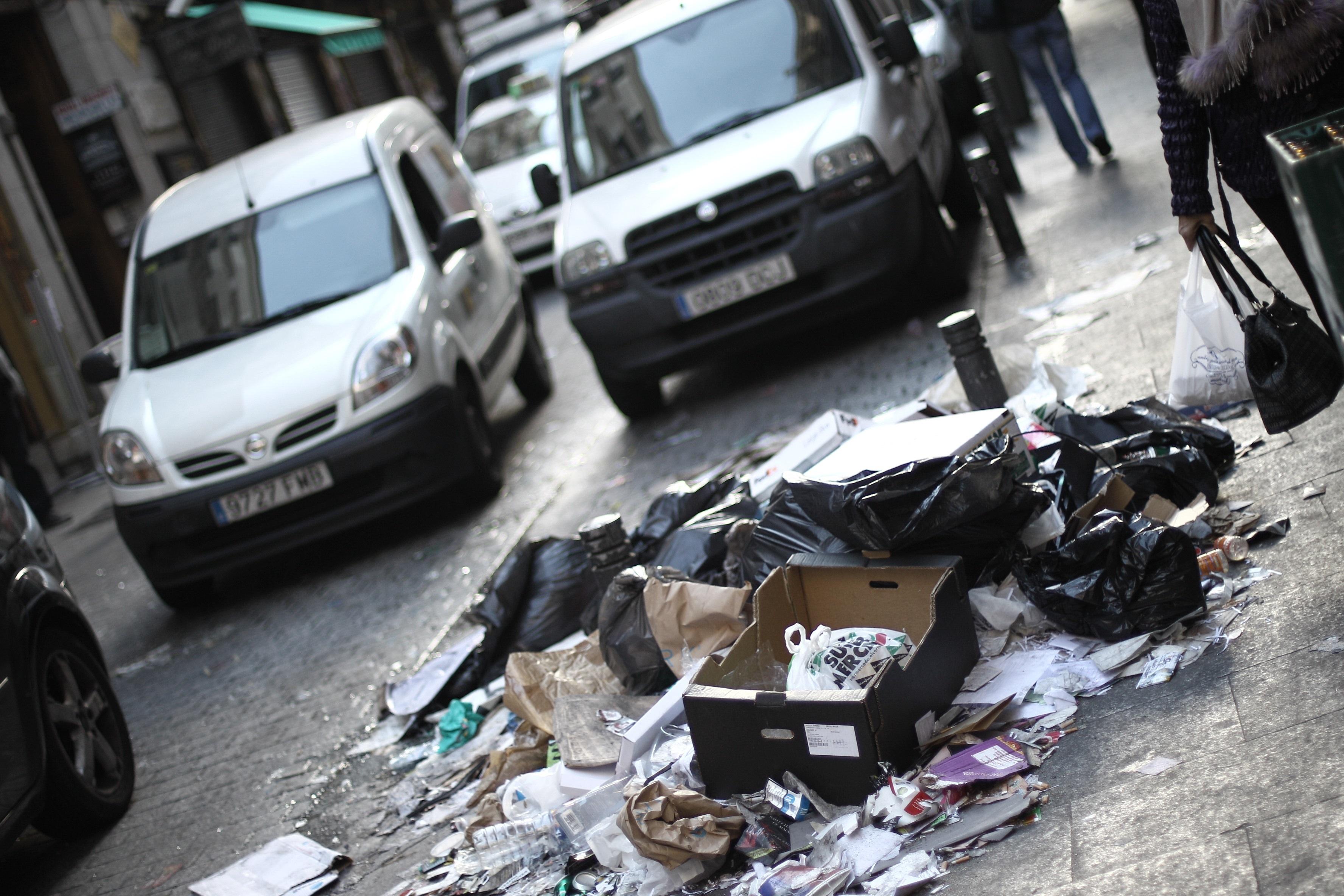 Las concesionarias de la limpieza tienen hasta hoy para dejar Madrid en perfecto estado