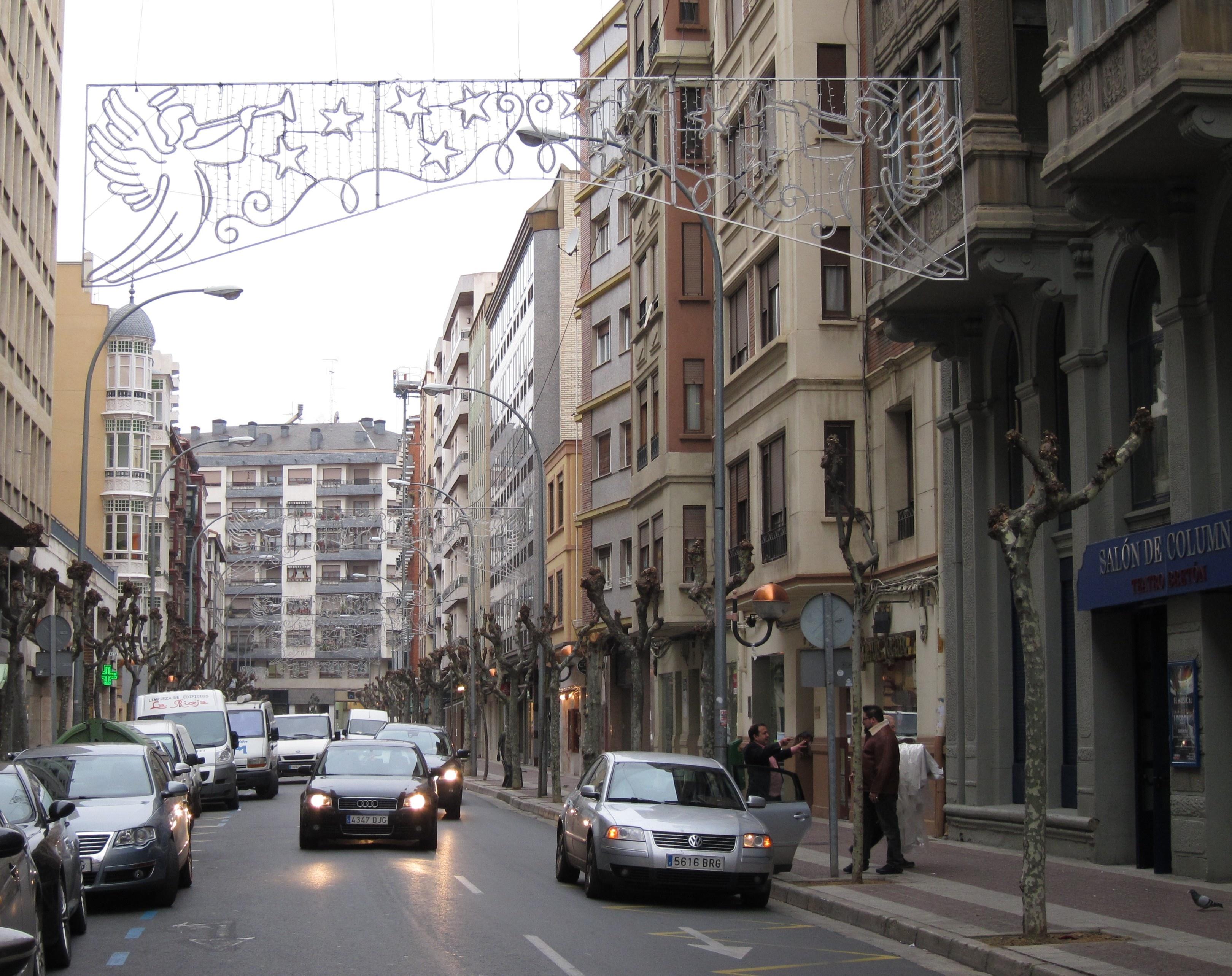 El alumbrado navideño se encenderá en Logroño el 5 de diciembre en la Concha de El Espolón