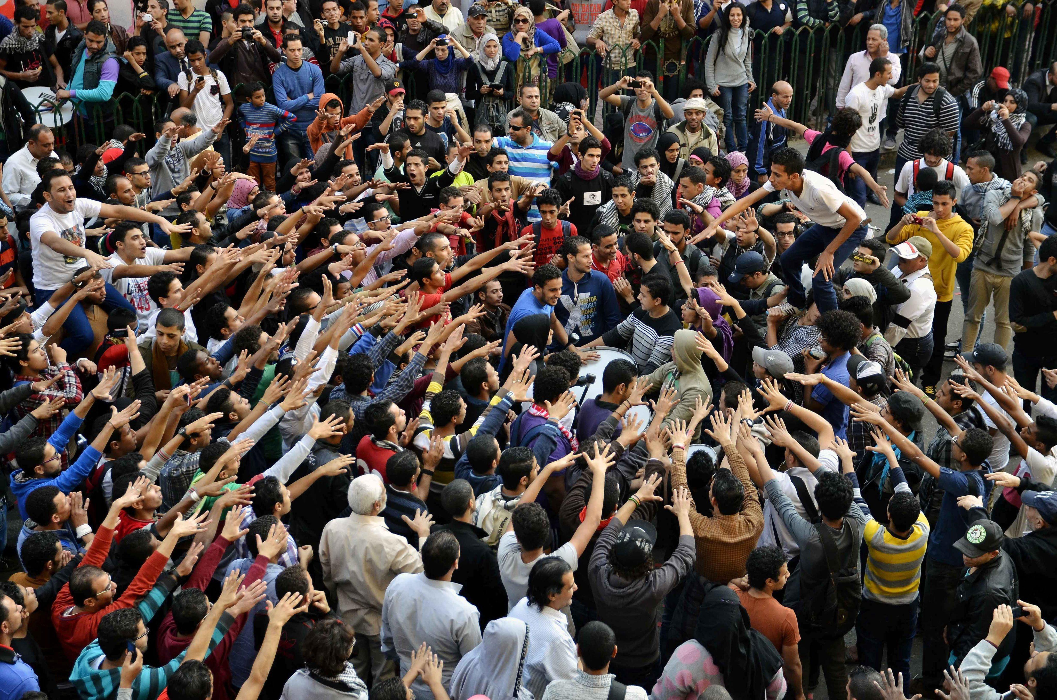 Dos muertos y cuarenta heridos durante los disturbios en Egipto