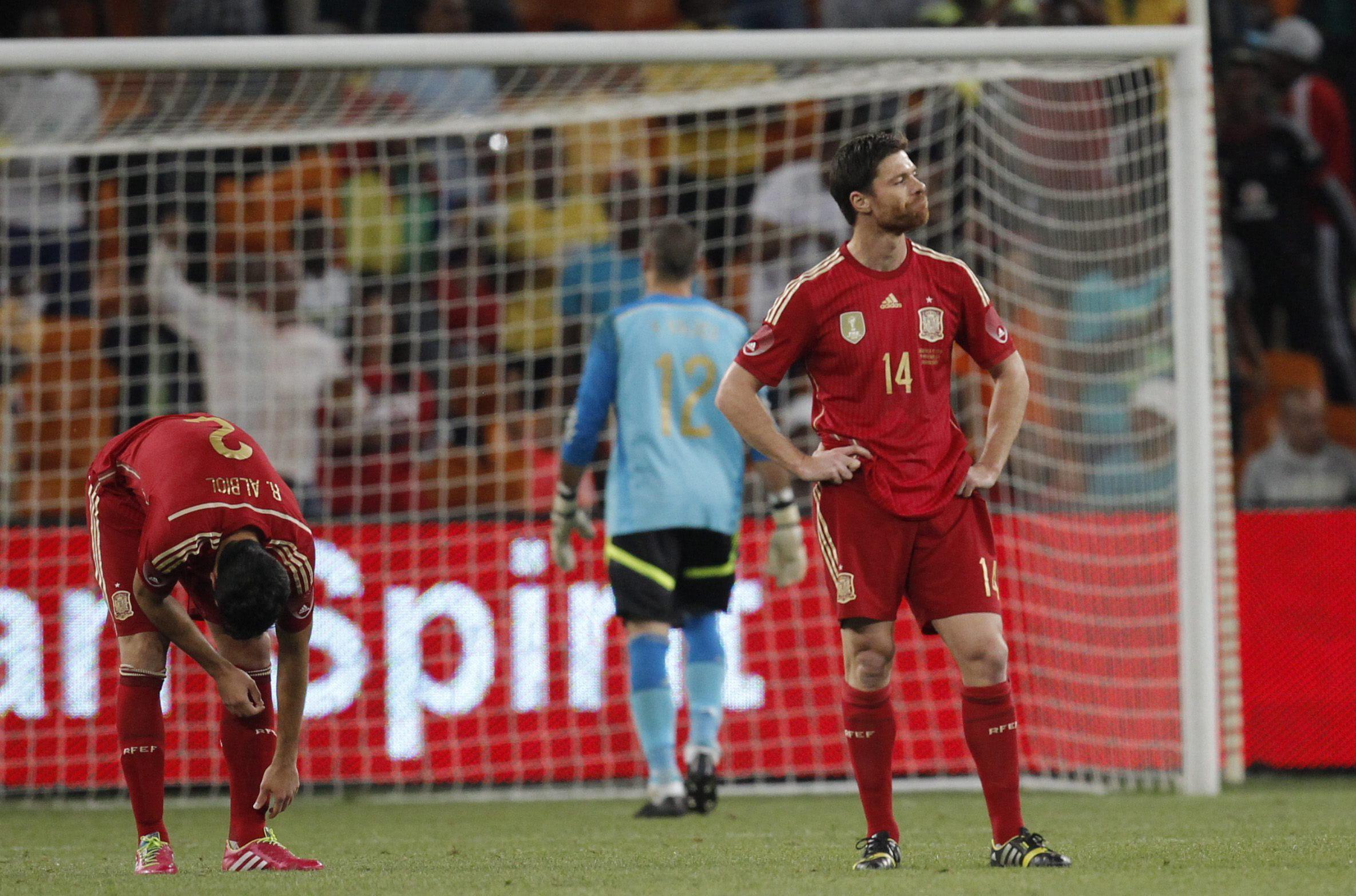 La prensa sudafricana, eufórica tras el «noqueo» de Bafana Bafana a España
