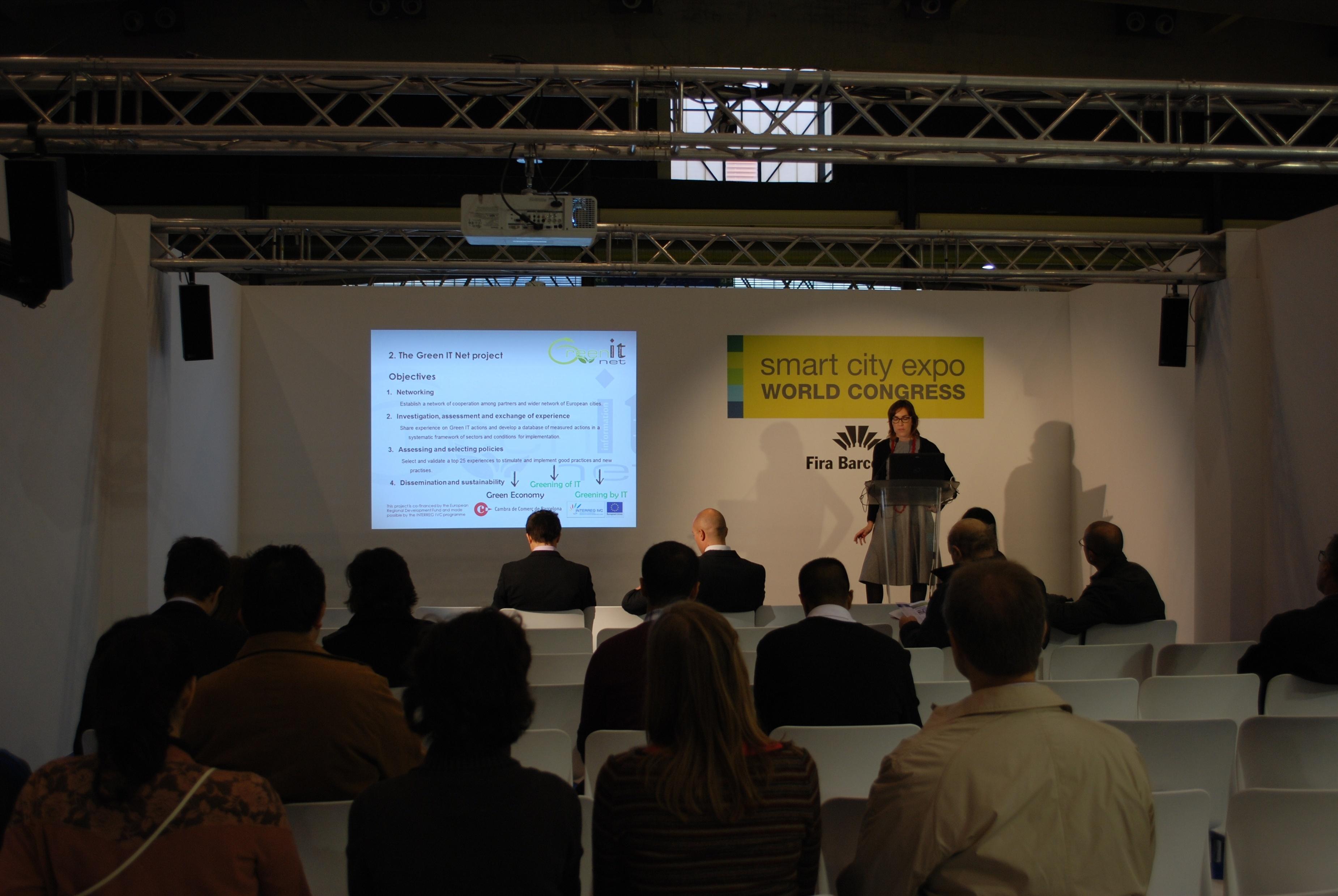 Una quincena de ciudades europeas se fijan en los proyectos de eficiencia energética de Barcelona
