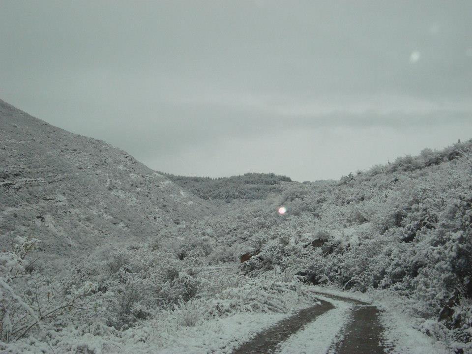 Cuatro puertos de la red secundaria de carreteras de La Rioja siguen necesitando del uso de cadenas por la nieve