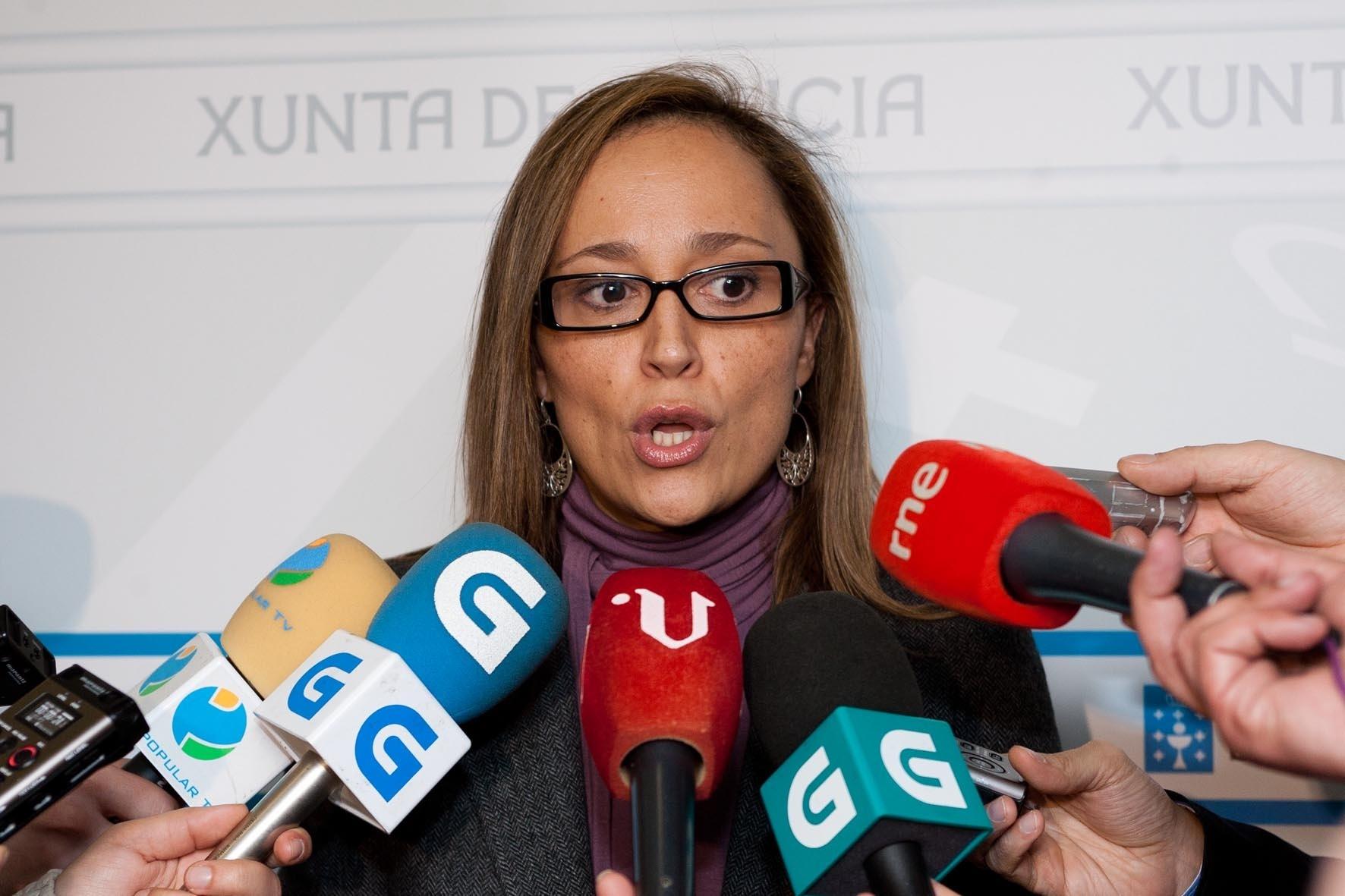 La conselleira de Facenda elude comentar la venta de Novagalicia Banco hasta contar con la comunicación oficial del FROB