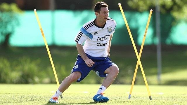 Messi afronta la recta final de su recuperación