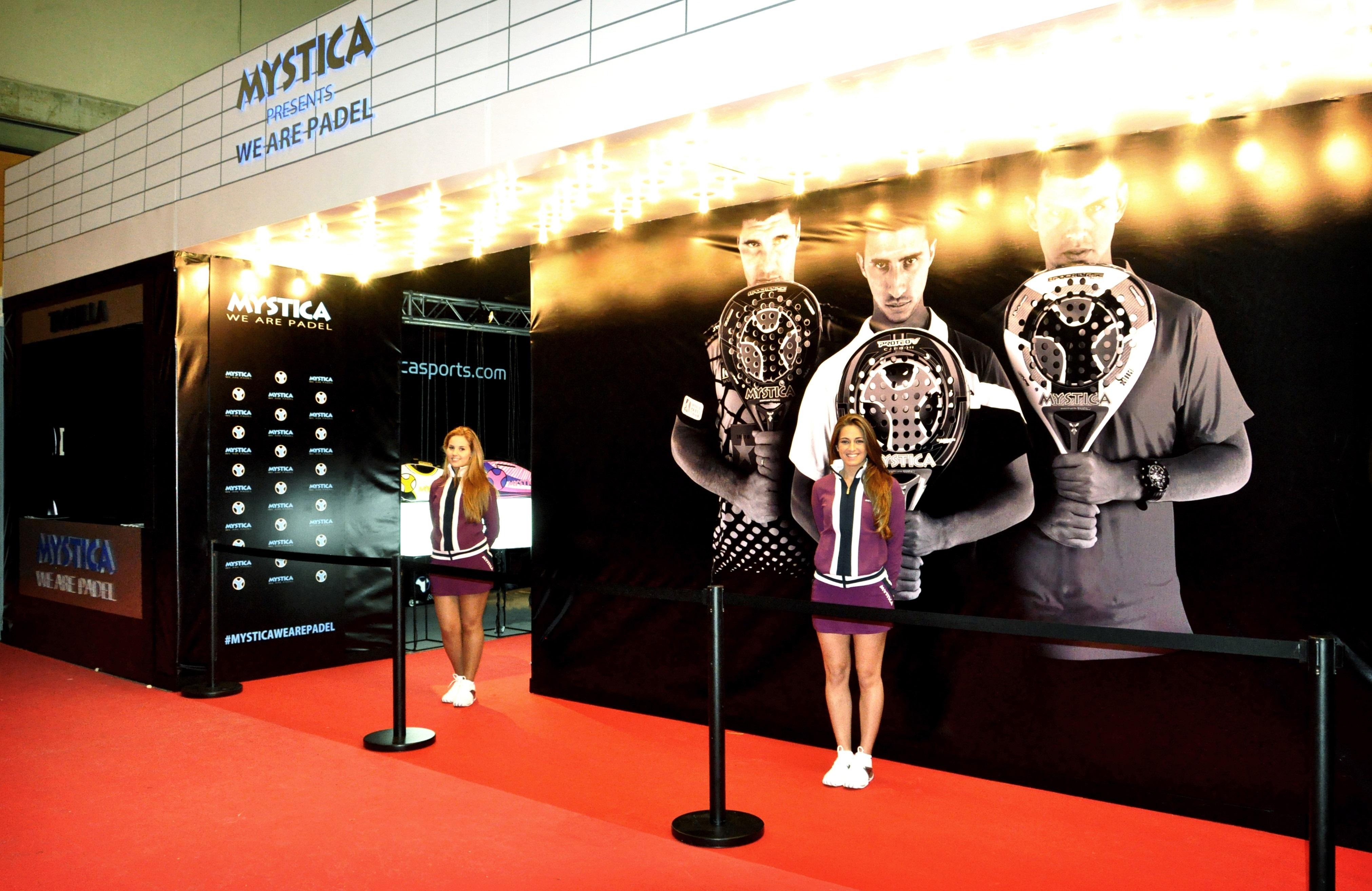 Mystica presentará su nueva colección en el Estrella Damm Masters Finals de pádel