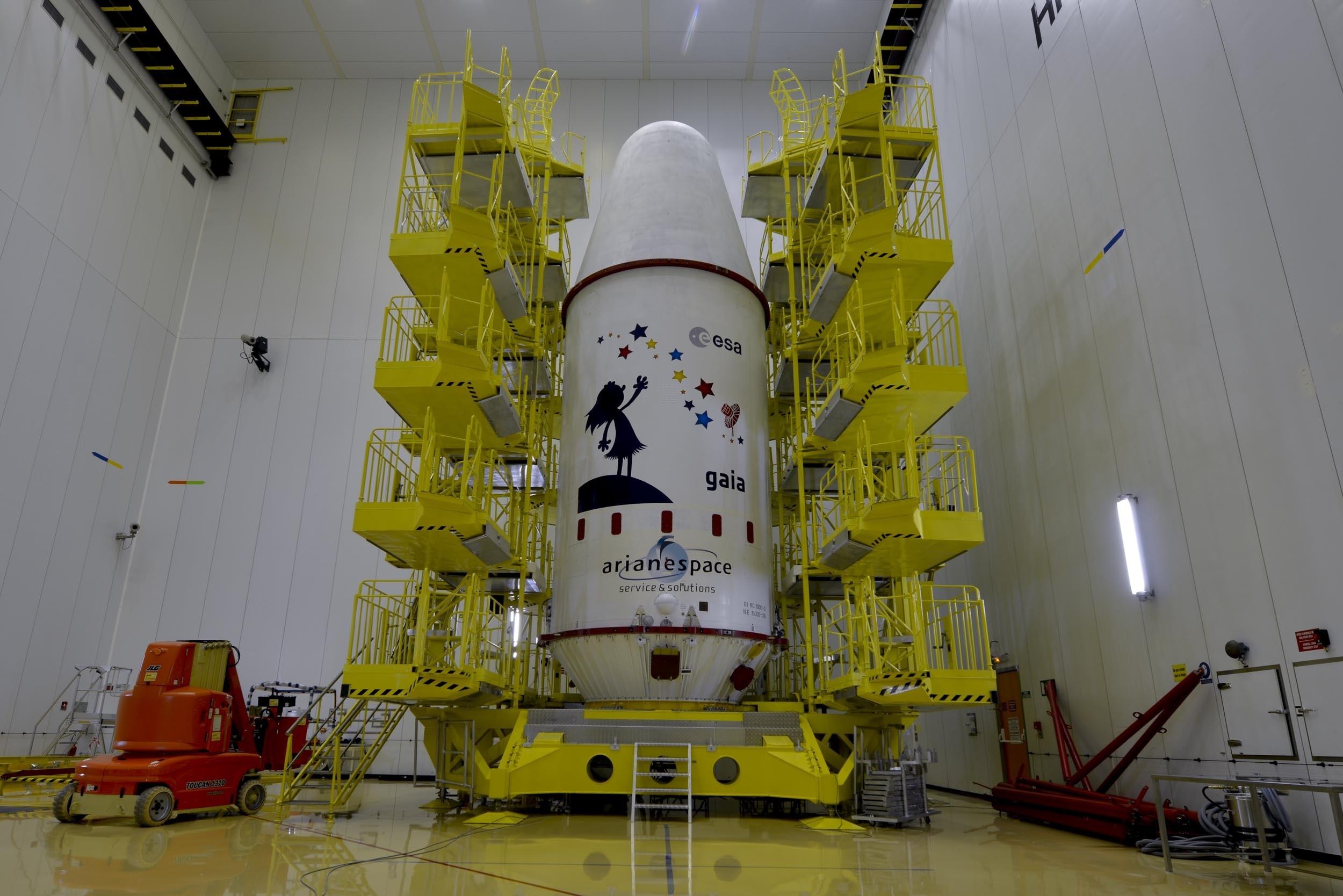La ESA lanza este jueves la misión Gaia, que cuenta con una participación «muy activa» de España