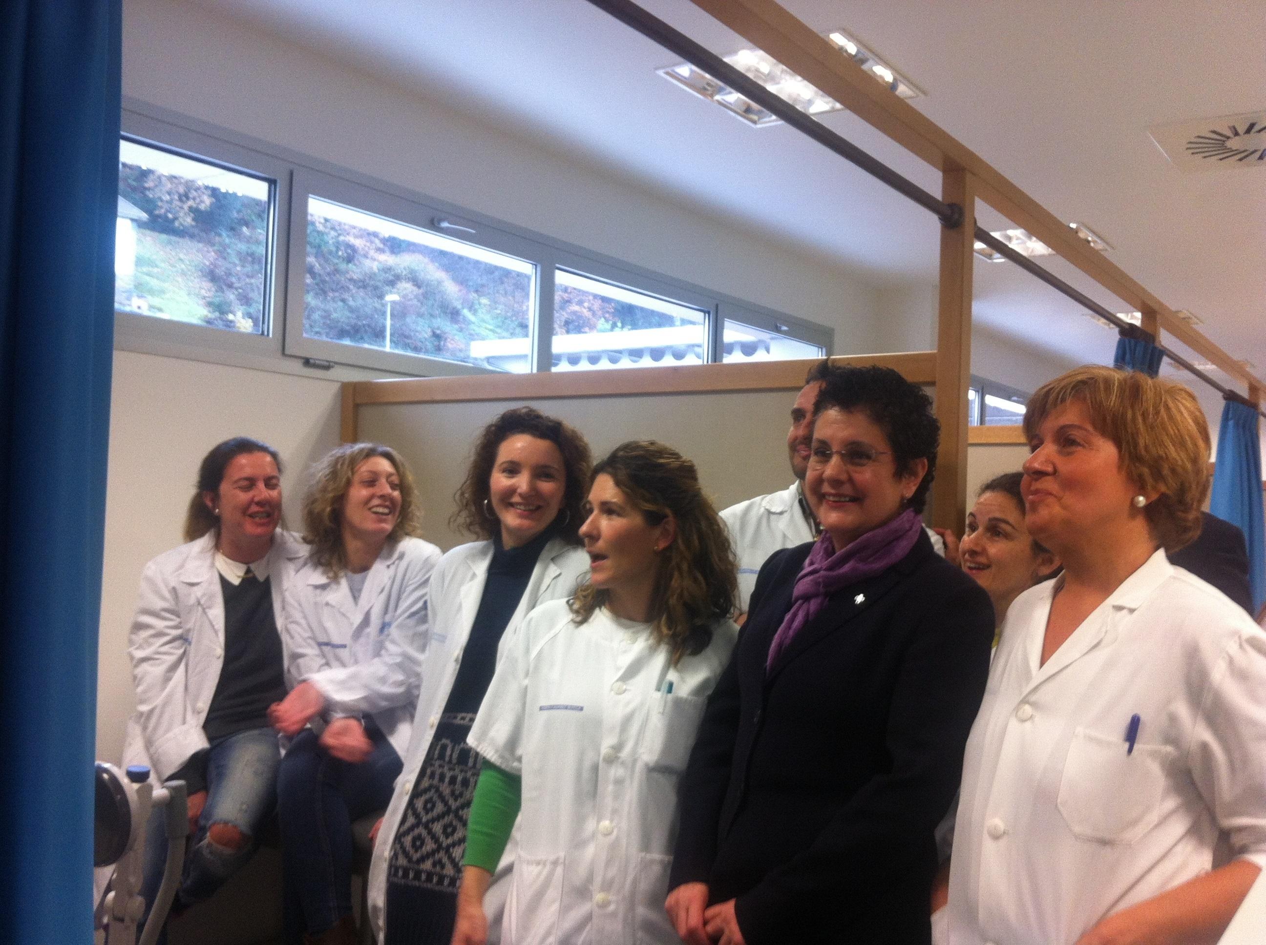El nuevo hospital Álvarez Buylla de Mieres recibe a sus primeros treinta pacientes